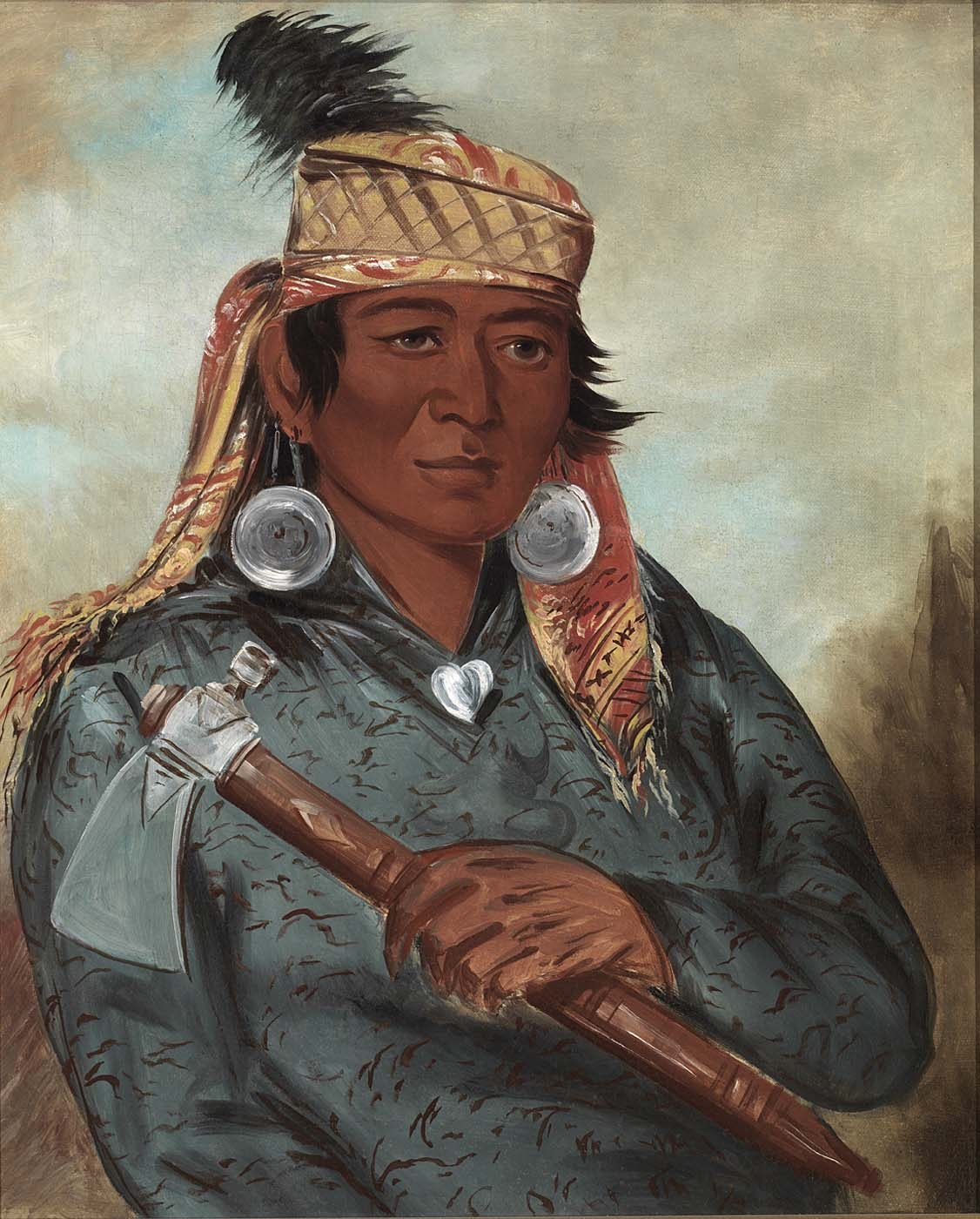 File:George Catlin - Wáh-pe-say, The White - 1985.66.250 ...