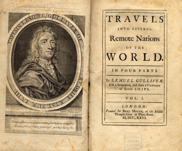 First edition of Gulliver's Travels