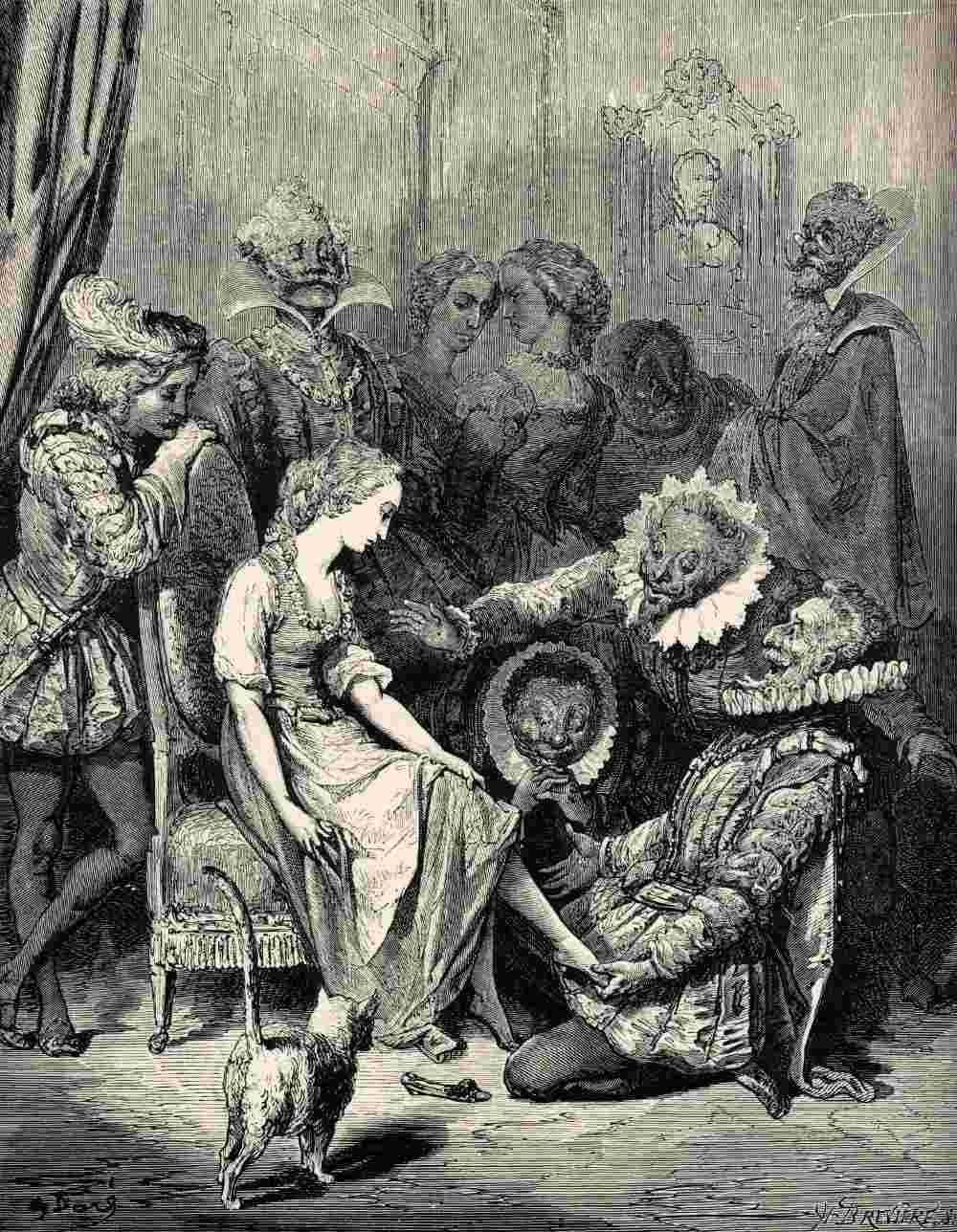 Cendrillon et sa petite pantoufle de VERRE