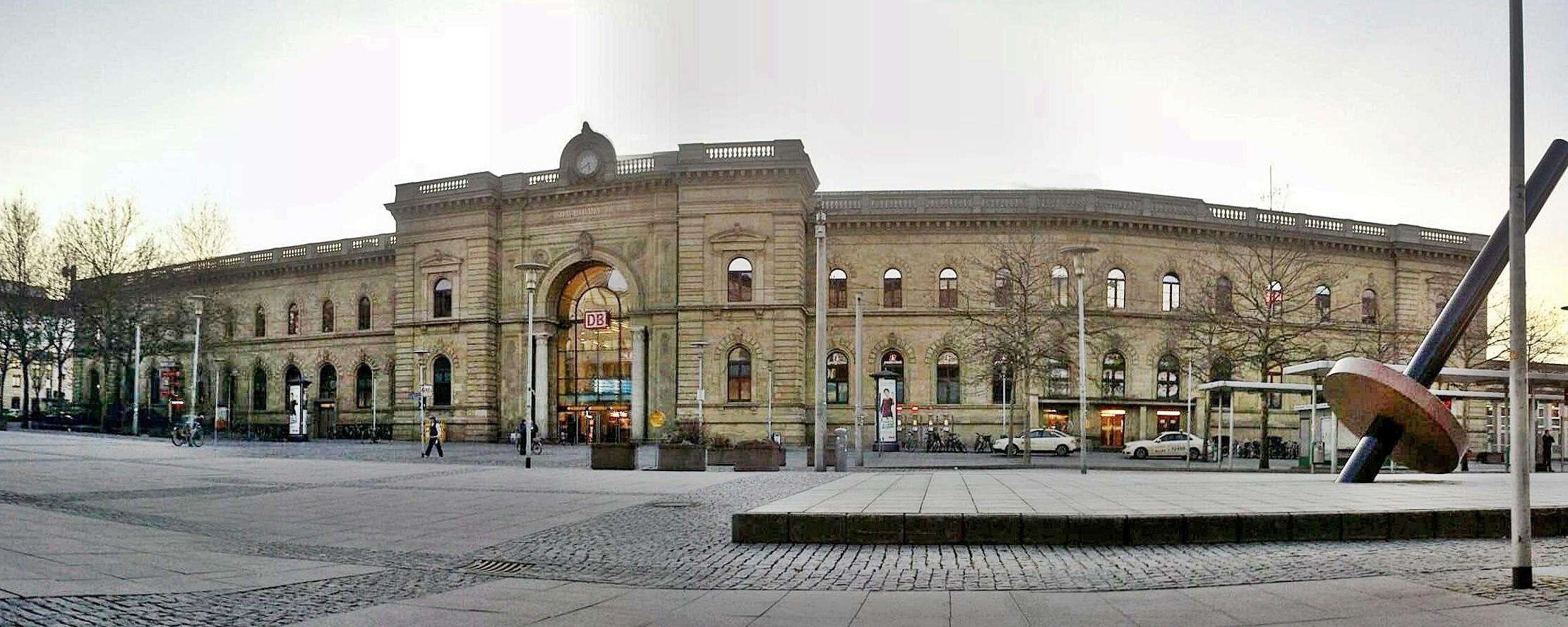 магдебург железнодорожный вокзал фото последующие годы