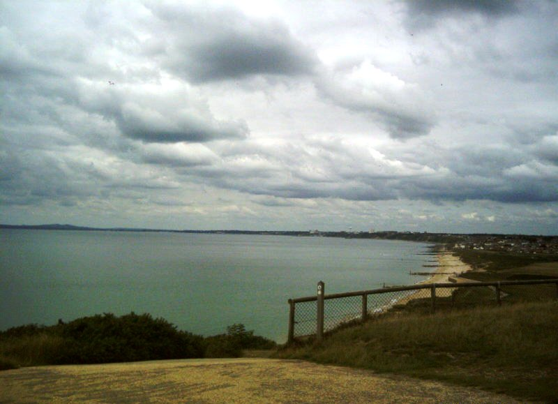 Hengistbury Head looking west