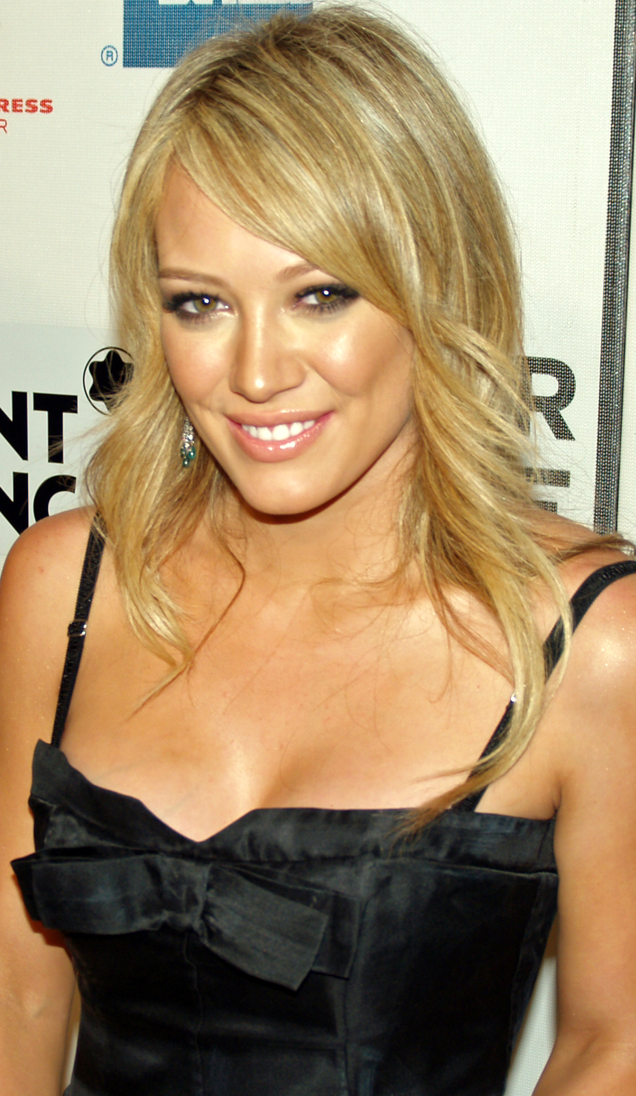 Depiction of Hilary Duff