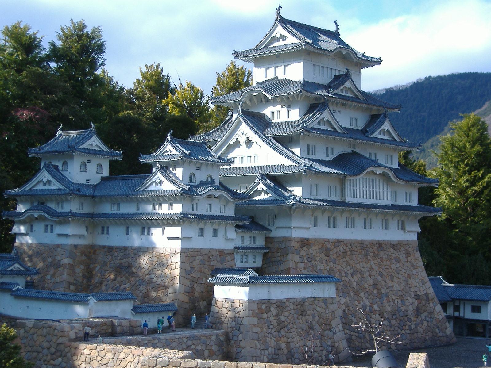 File Himeji Castle In Tobu World Square Jpg Wikimedia