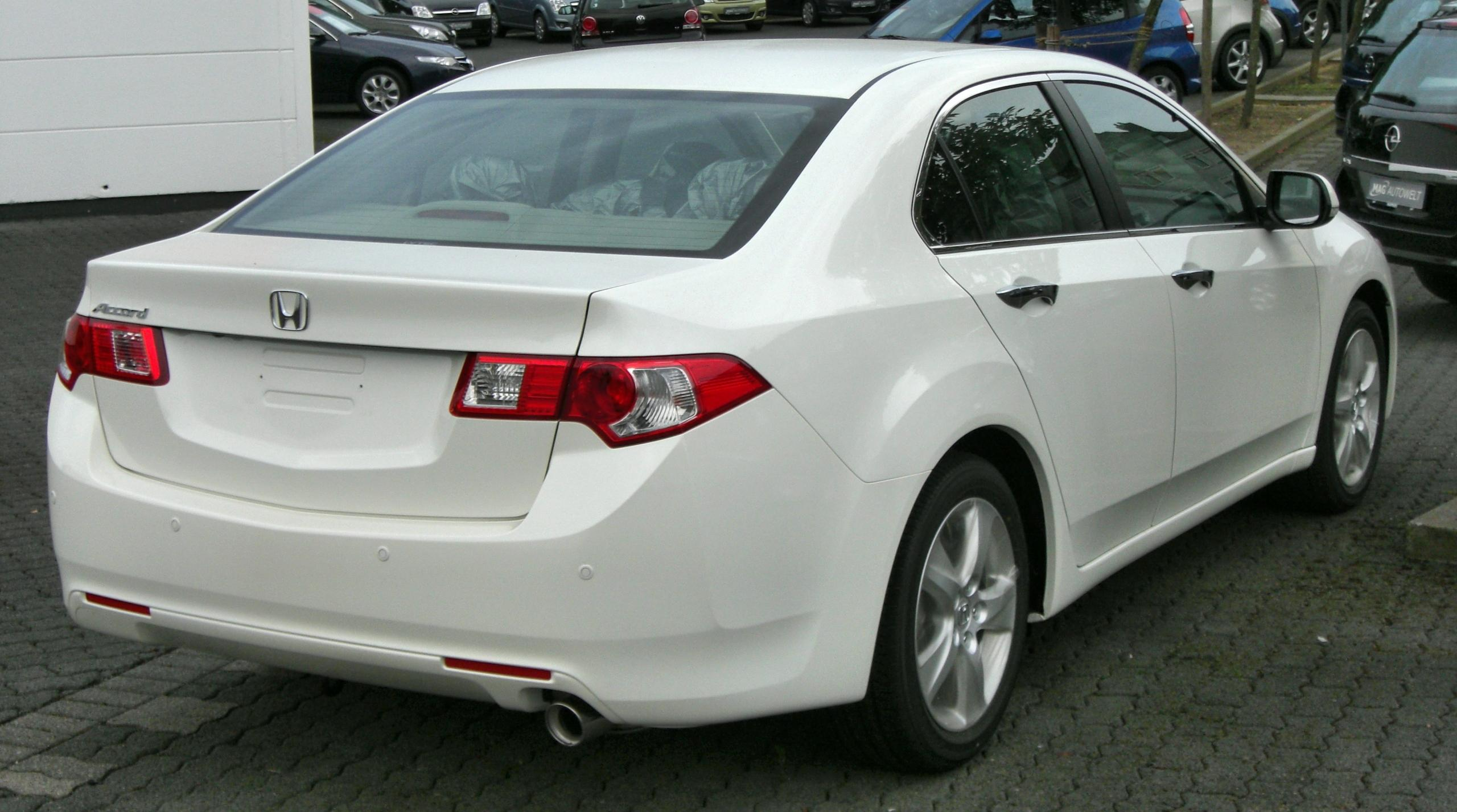 Honda Accord 2018 White >> File:Honda Accord (2008) rear.JPG - Wikimedia Commons