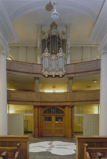File interieur overzicht westgevel met orgel orgelnummer for Interieur amersfoort