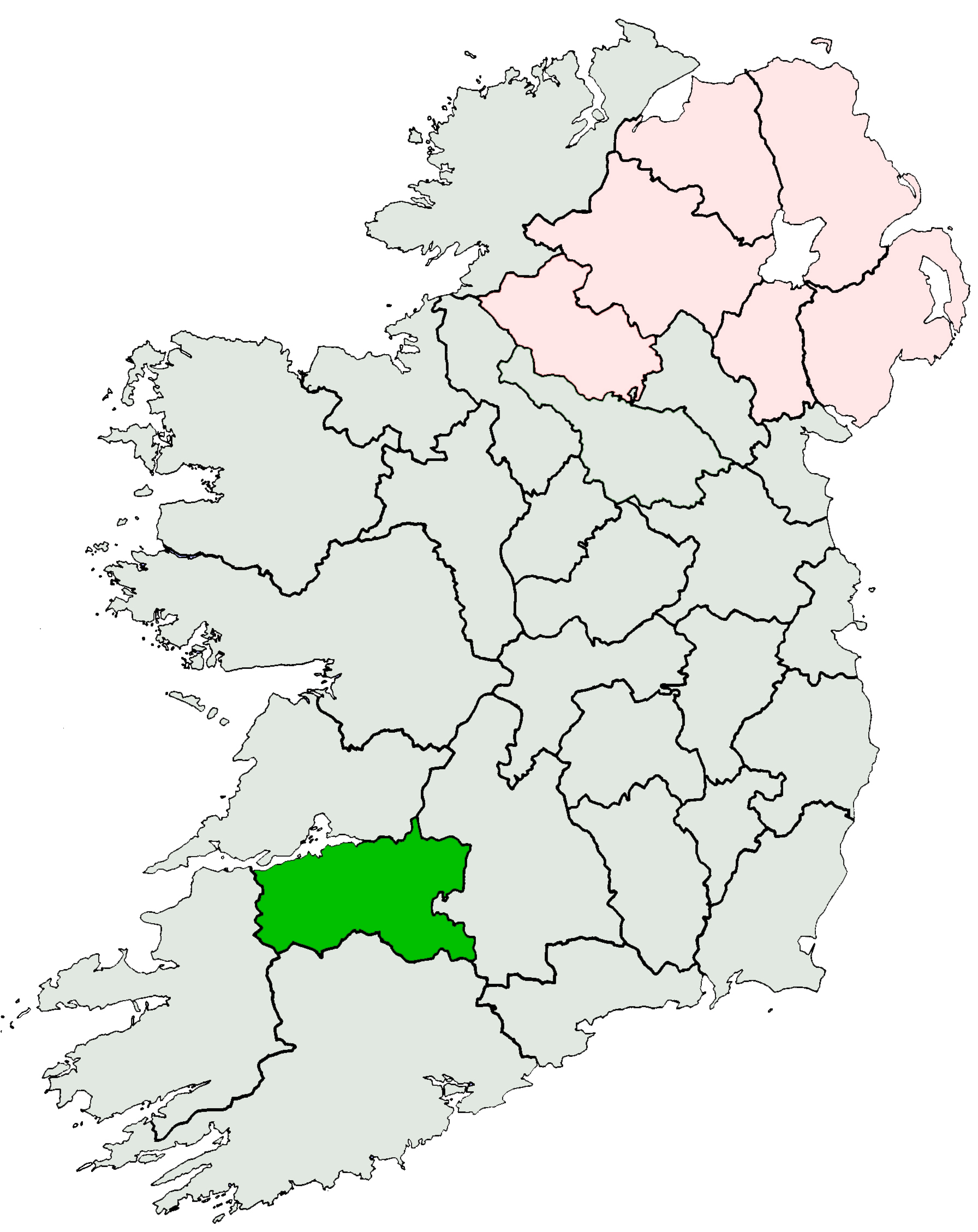 File:Ireland location Limerick.   Wikimedia Commons