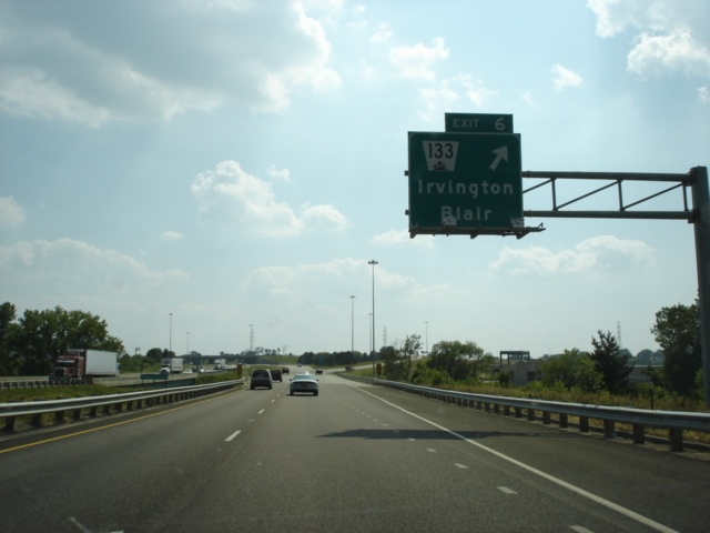 Irvington exit on Westbound Interstate 680.JPG
