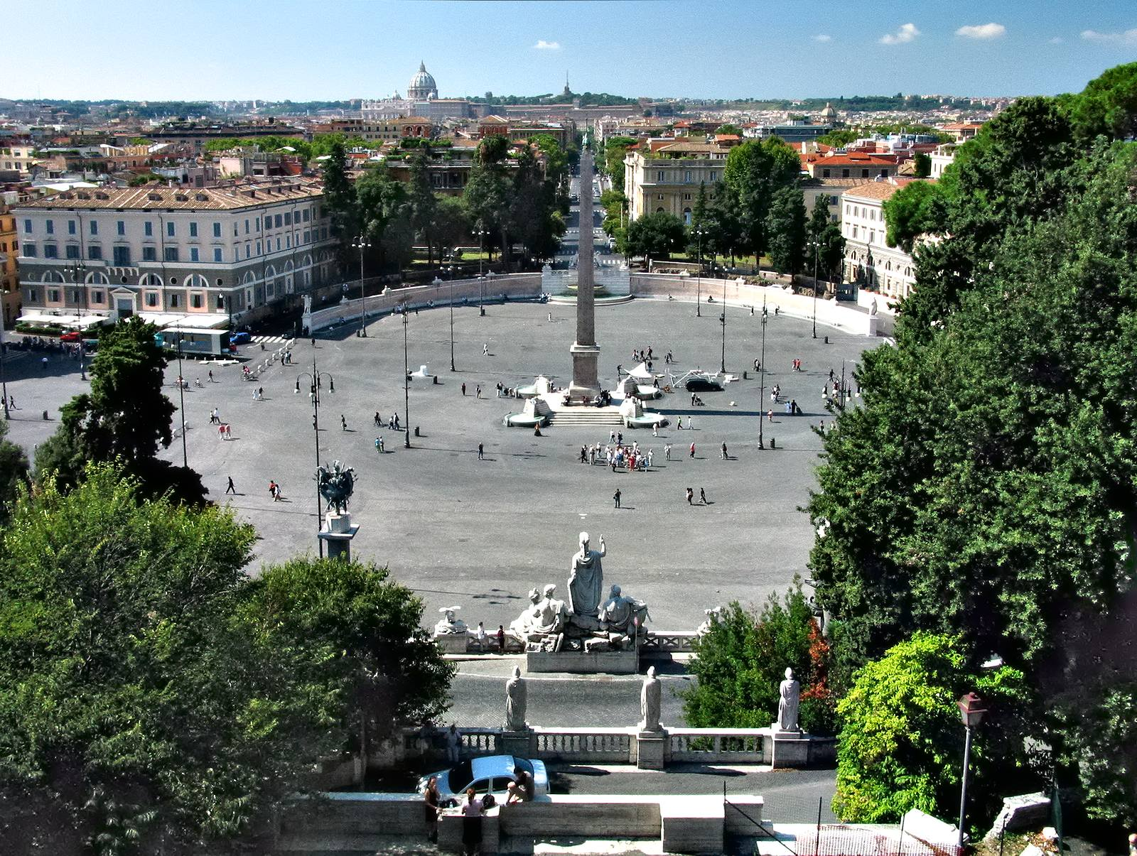 Italien Rom Piazza del Popolo 1