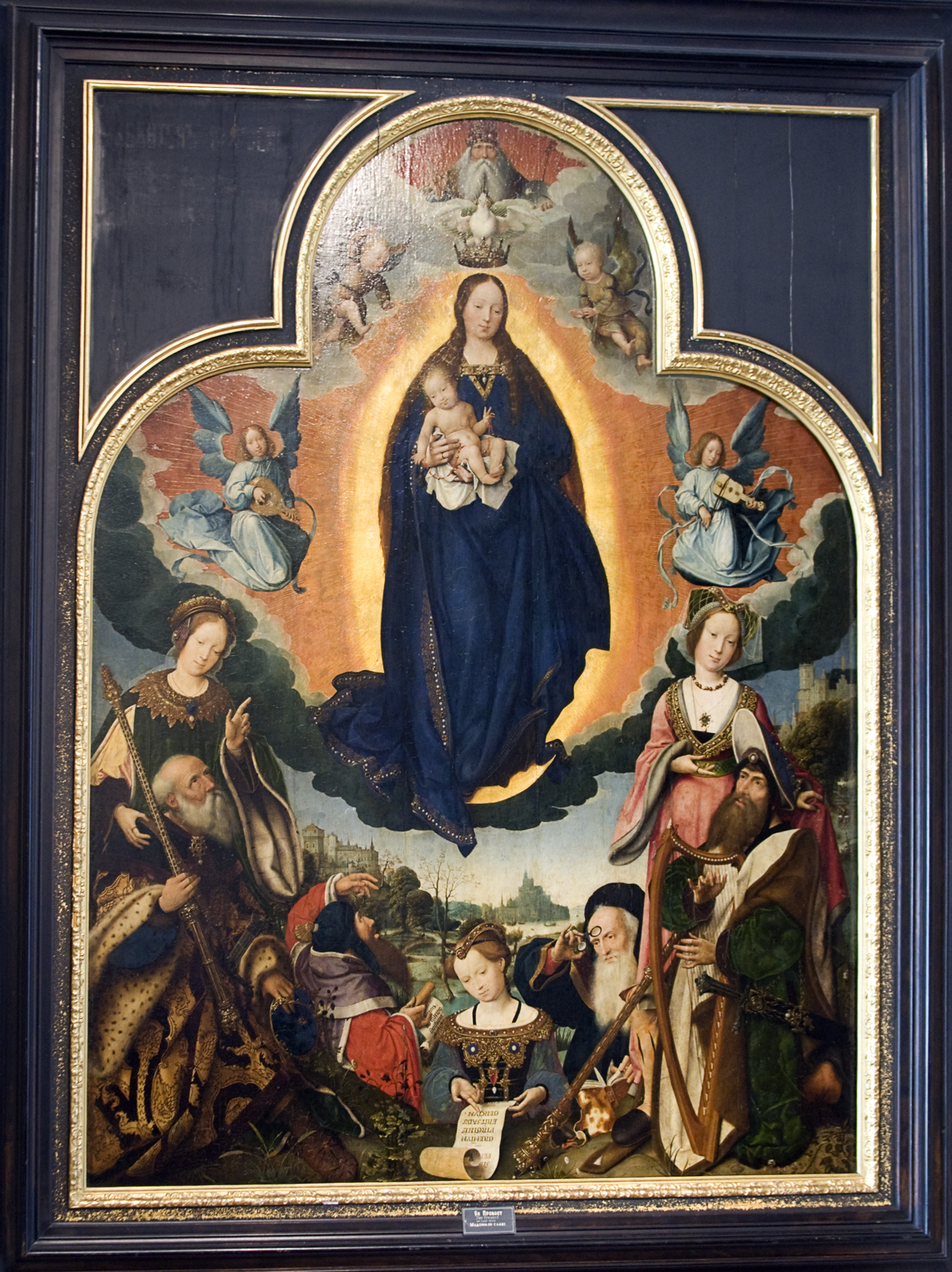 The Virgin Mary in Glory by Jan Provoost, curr...