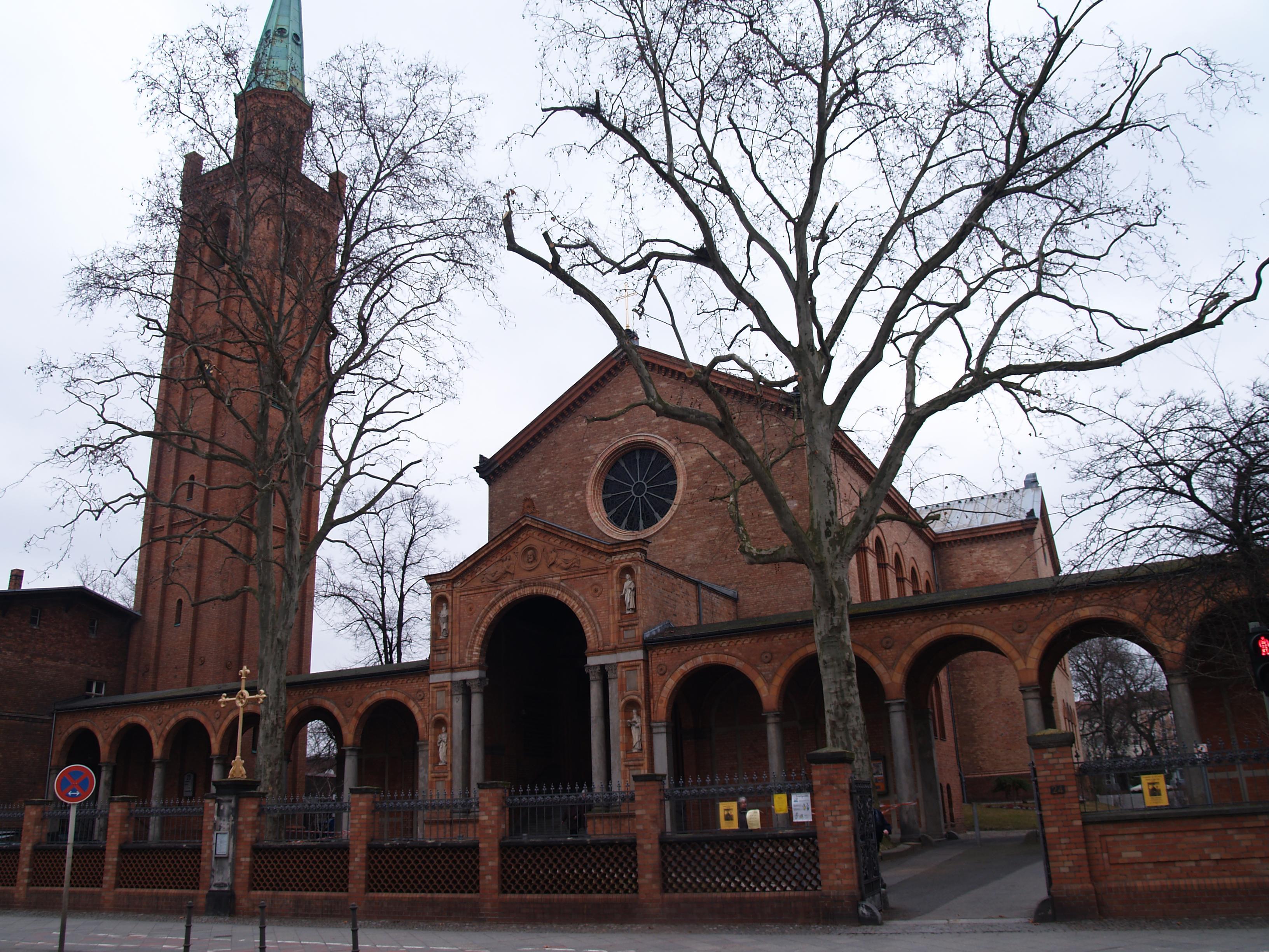 St. Johannes-Kirche in Moabit - Quelle: Wikimedia