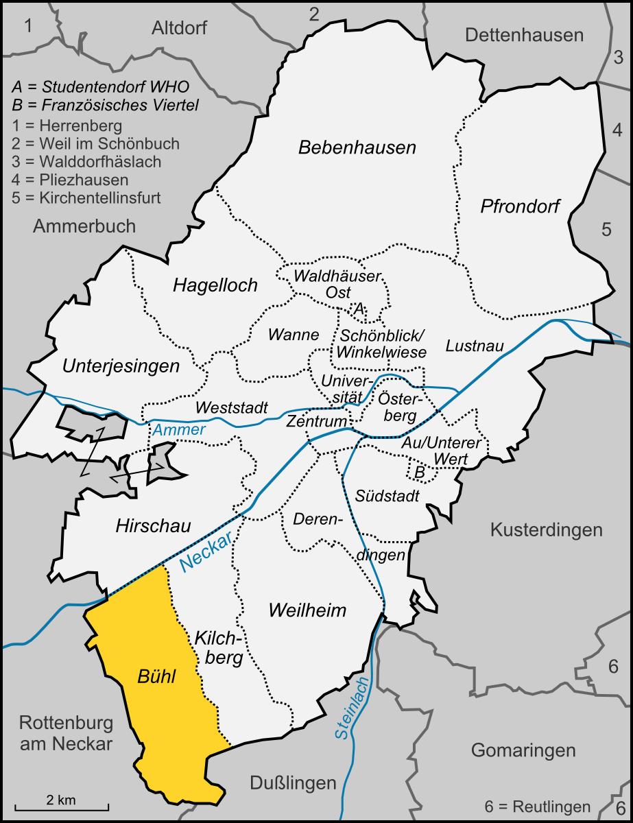 tübingen karte Datei:Karte Tübingen Stadtteil Bühl.png – Wikipedia