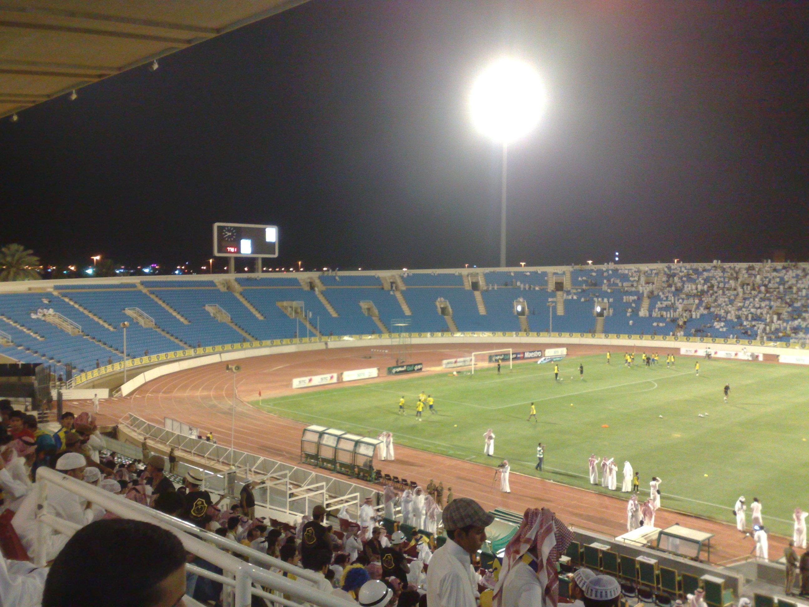 file king abdullah sport city stadium a     wikimedia