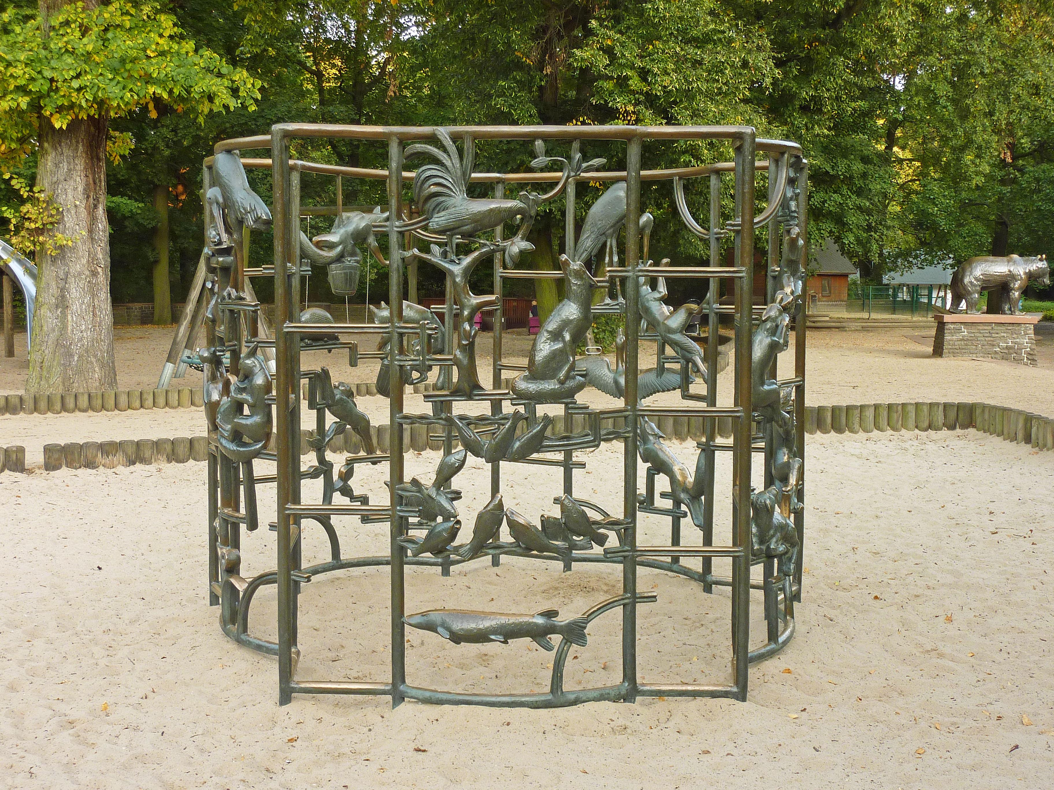 Klettergerüst Wikipedia : File klettergerüst von walter sutkowski seite  g