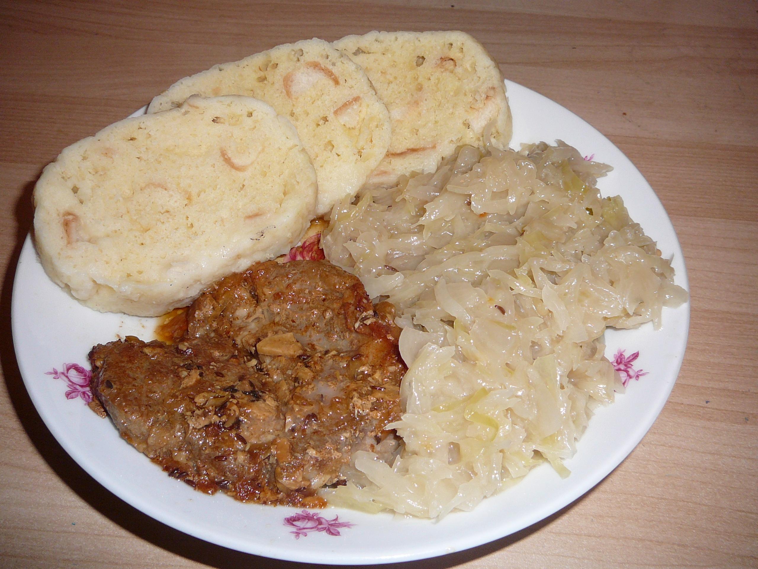 Comidas típicas em Praga