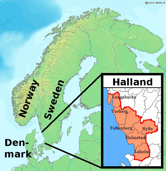 FileLAHallandpng Wikimedia Commons - Sweden map halmstad