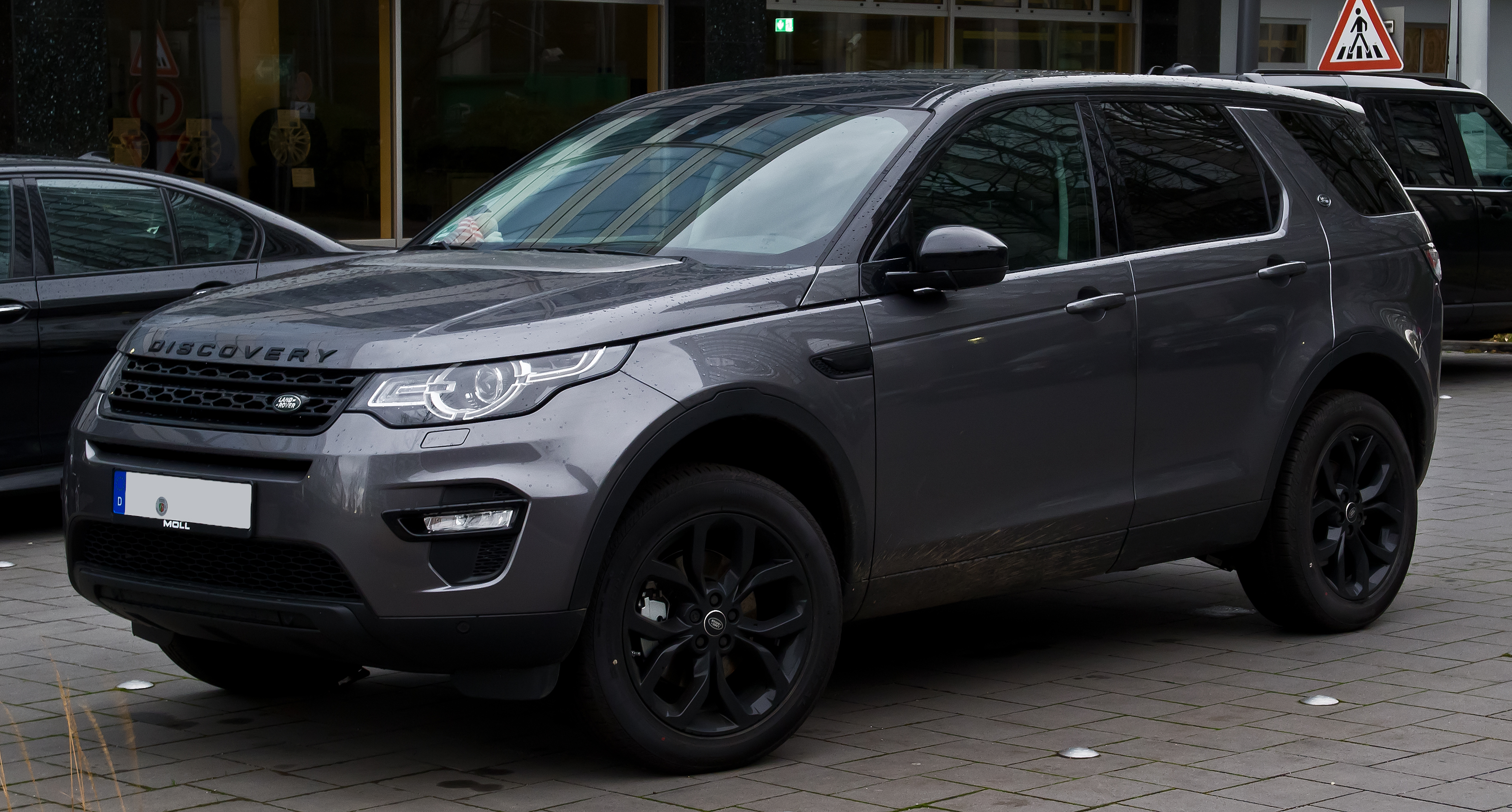datei land rover discovery sport td4 hse black paket frontansicht 3 januar 2016 d sseldorf. Black Bedroom Furniture Sets. Home Design Ideas