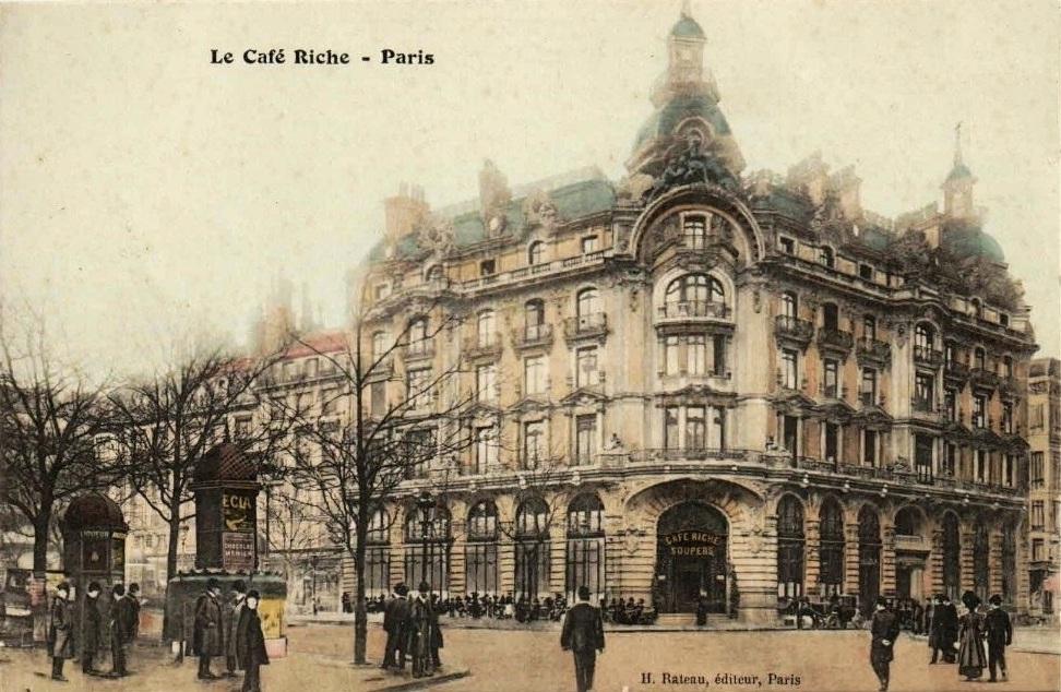 Cafe Riche  Paris France