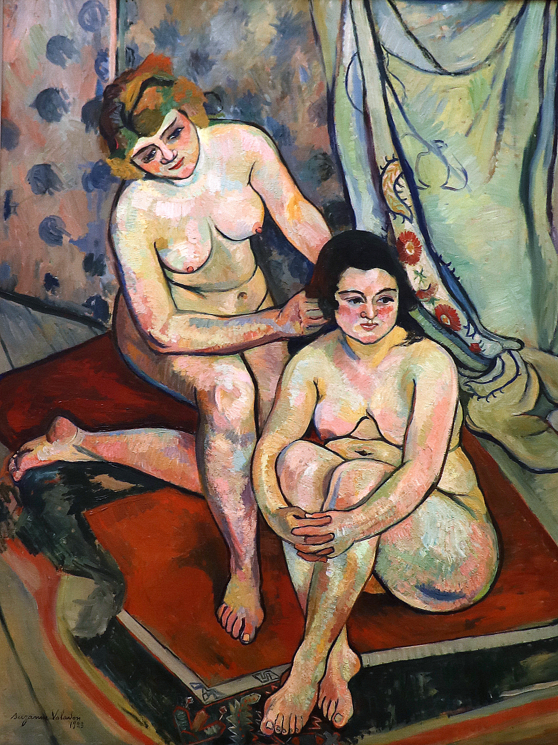 File:Les baigneuses (1923) de Suzanne Valadon.jpg - Wikimedia Commons