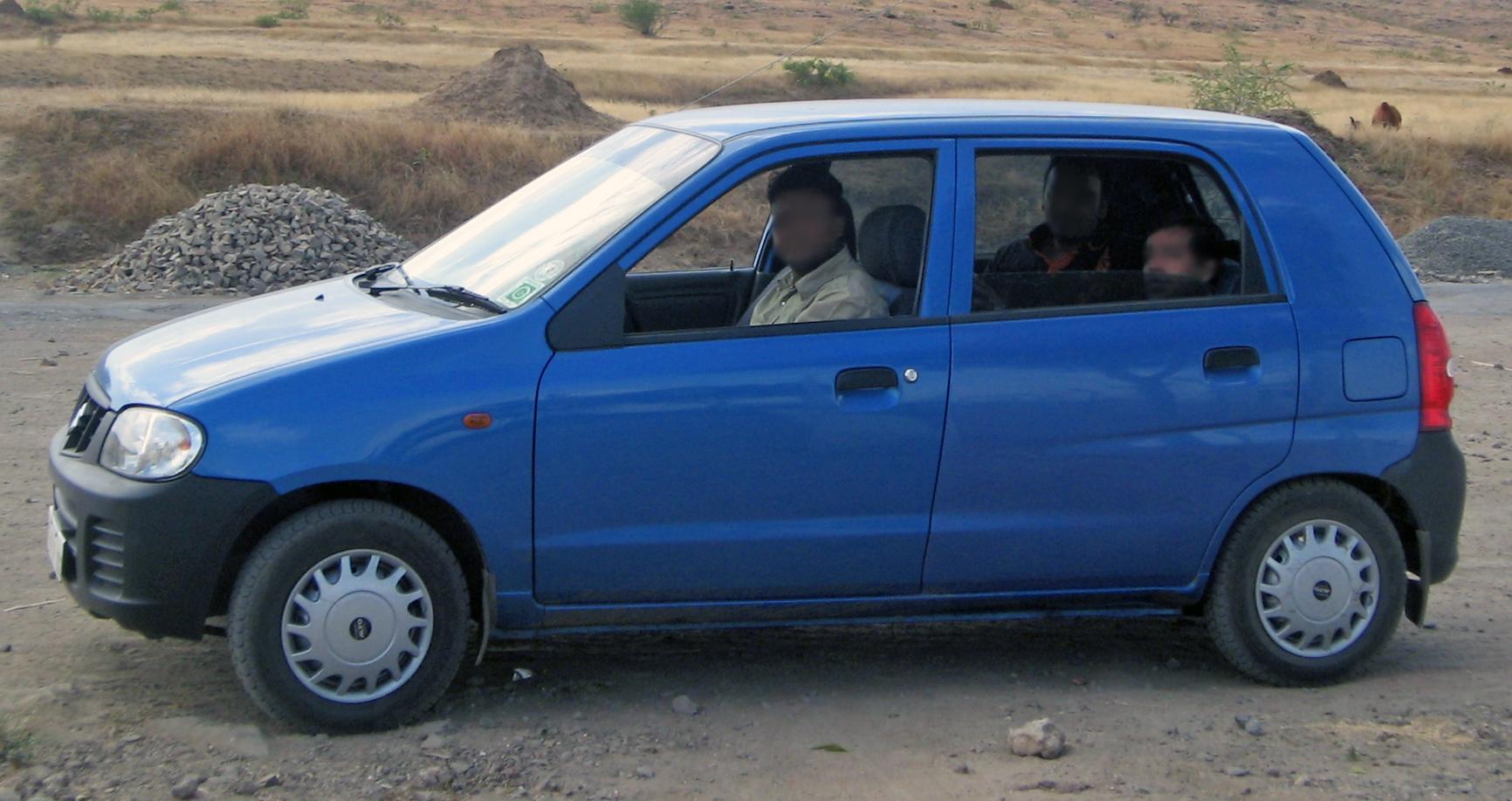 Suzuki Alto Wheel Size