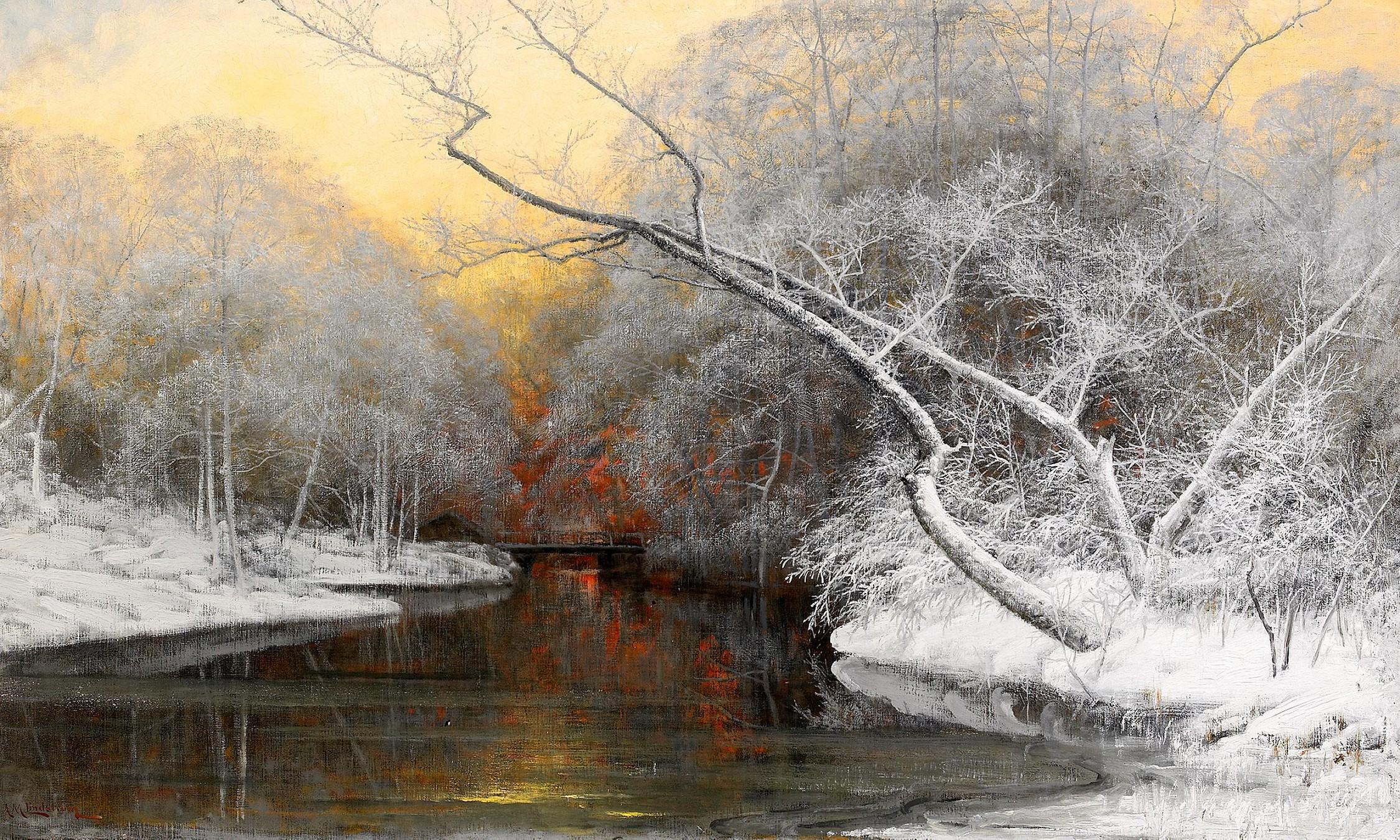 Bildresultat för vinterlandskap