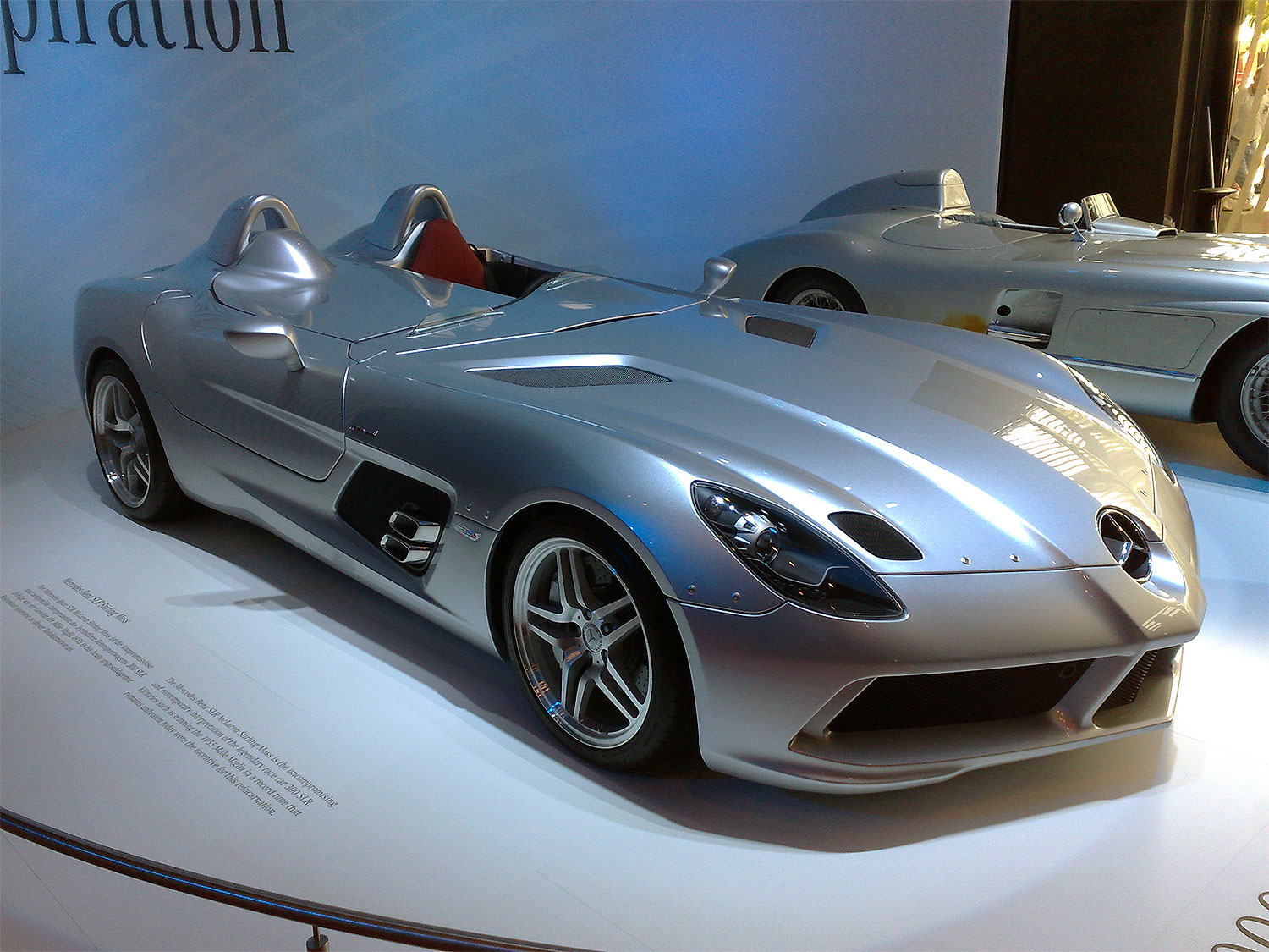 mercedes benz slr stirling moss edition. Black Bedroom Furniture Sets. Home Design Ideas