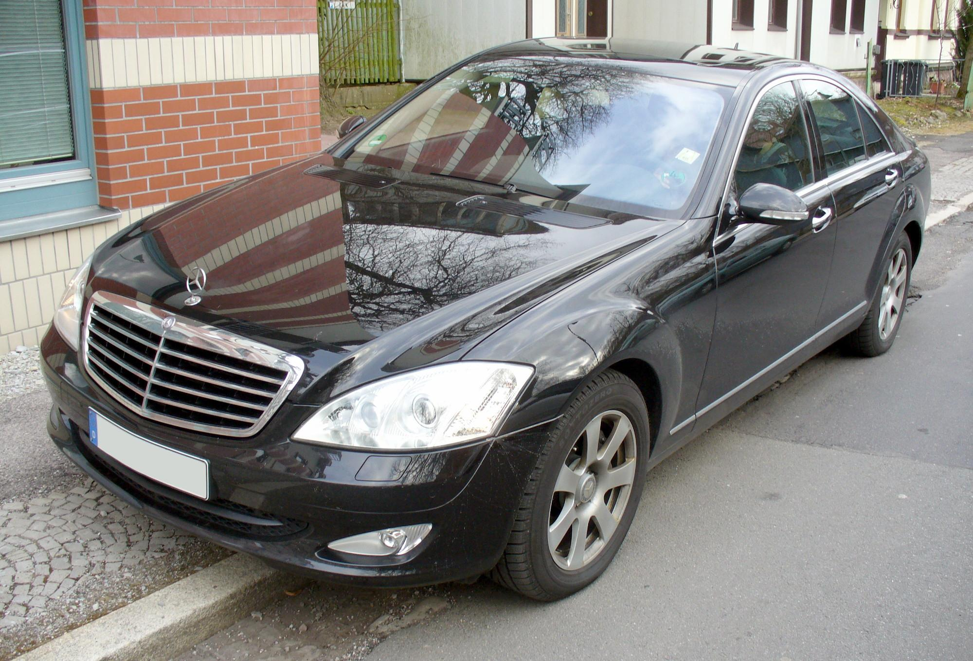 File mercedes benz w221 s350 obsidianschwarz jpg for Mercedes benz s350