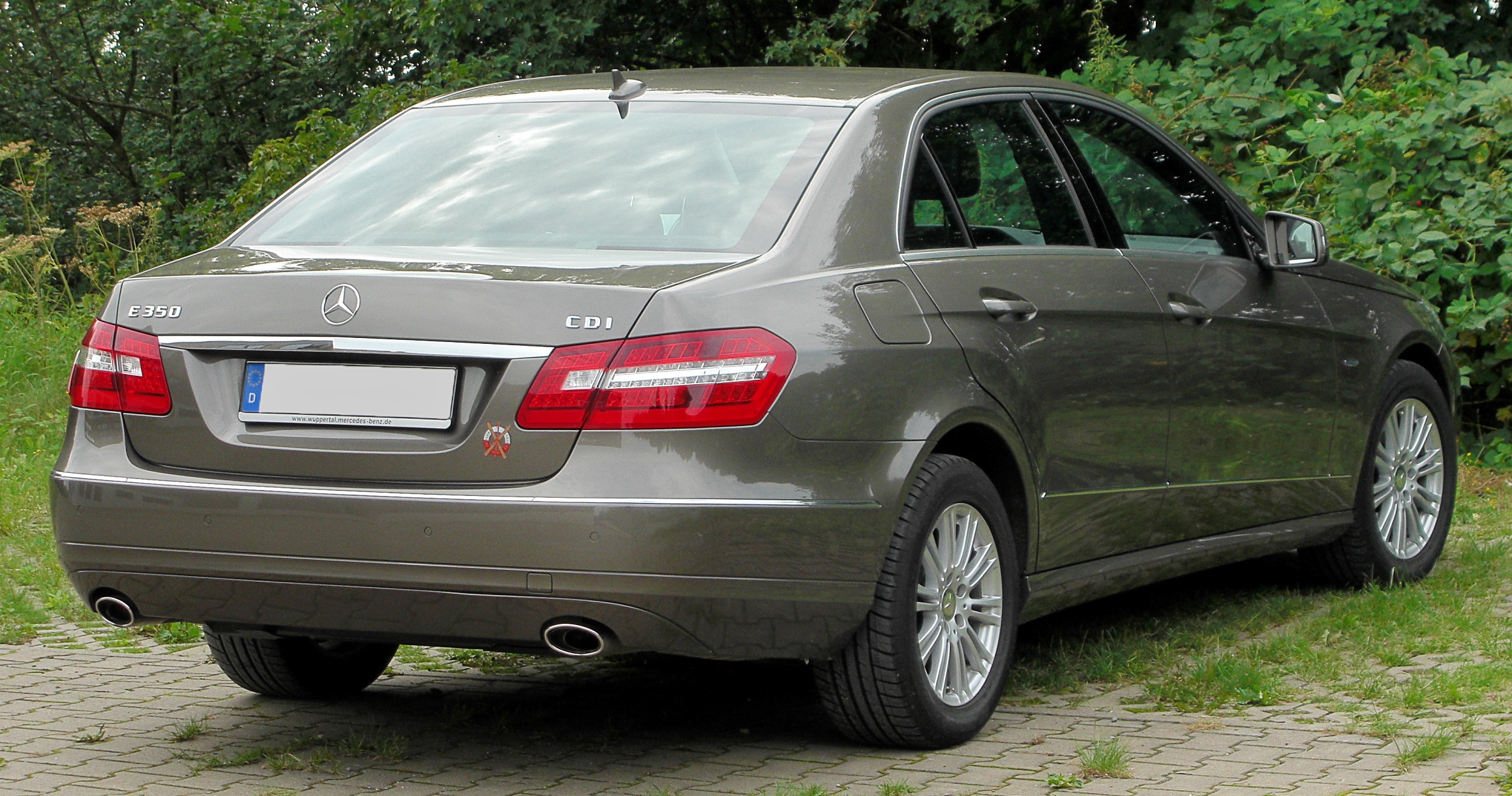Dateimercedes E 350 Cdi Blueefficiency Elegance W212 Rear