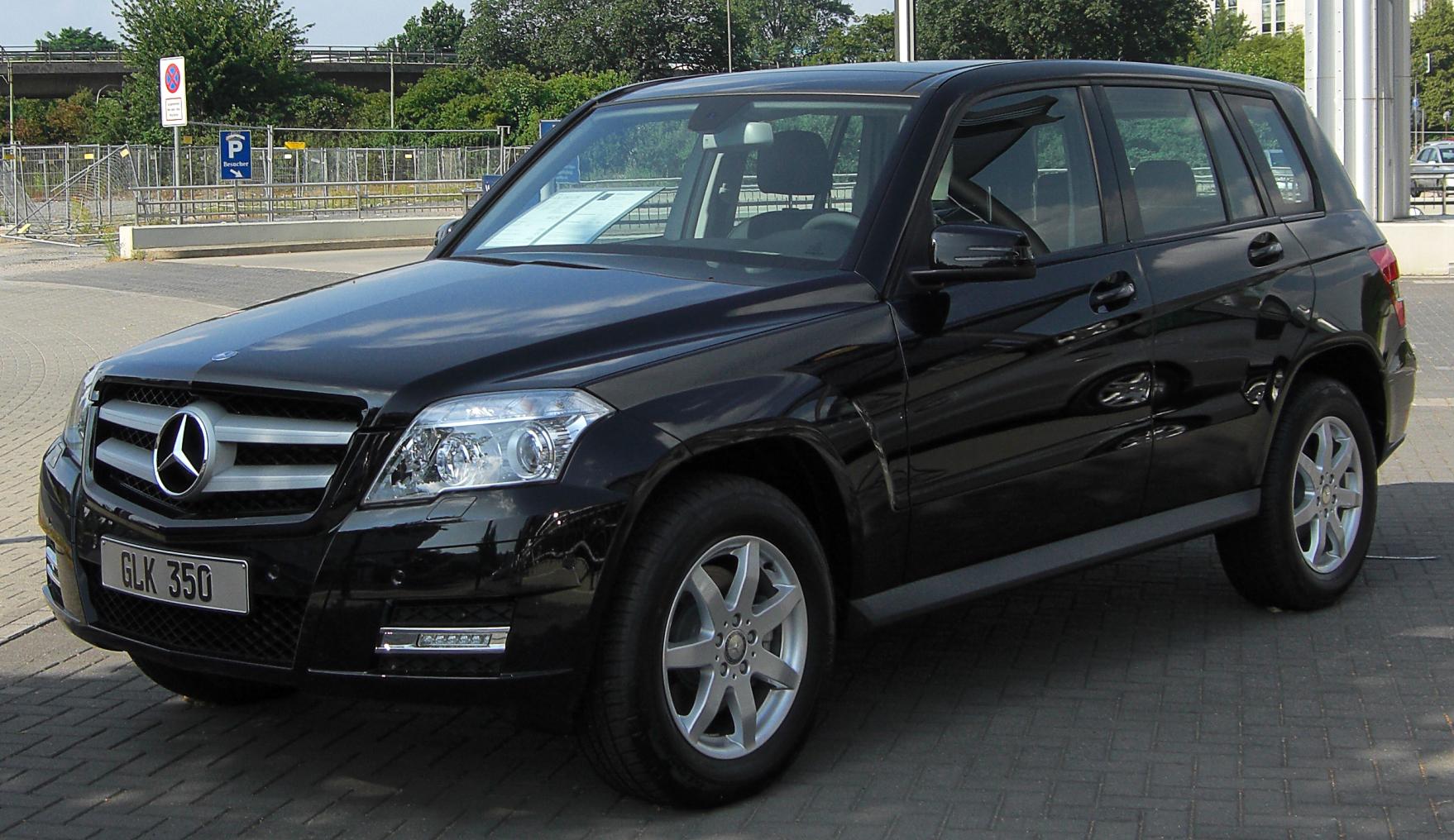 File:Mercedes GLK 350 CDI BlueEFFICIENCY (X204) front ...