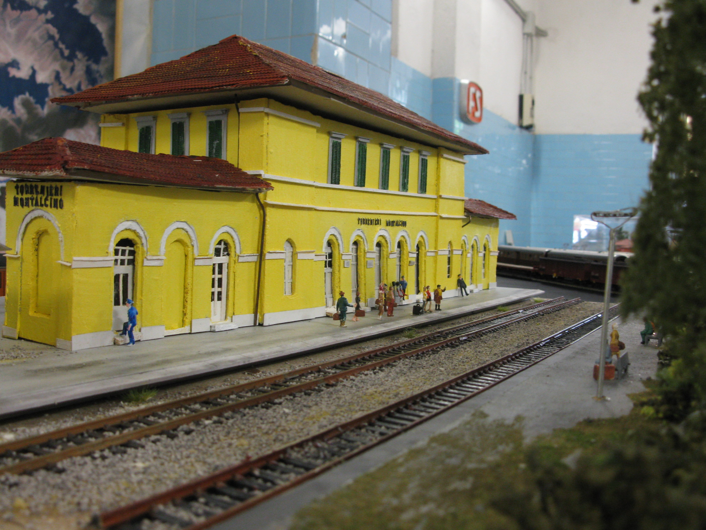 Model Railway Under Kitchen Floor