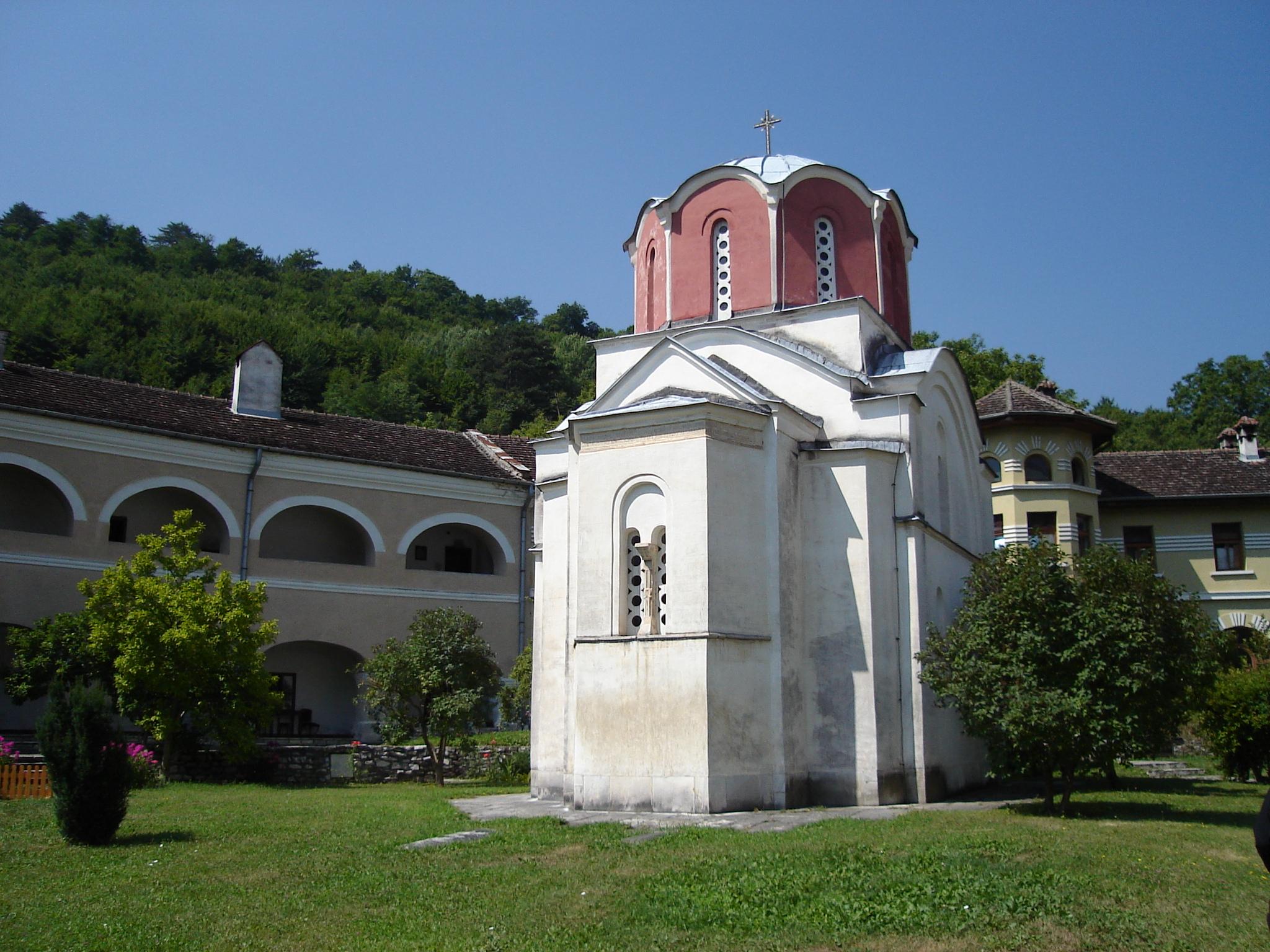 Kongens kirke i klosteret Studenica, bygd av kong Milutin