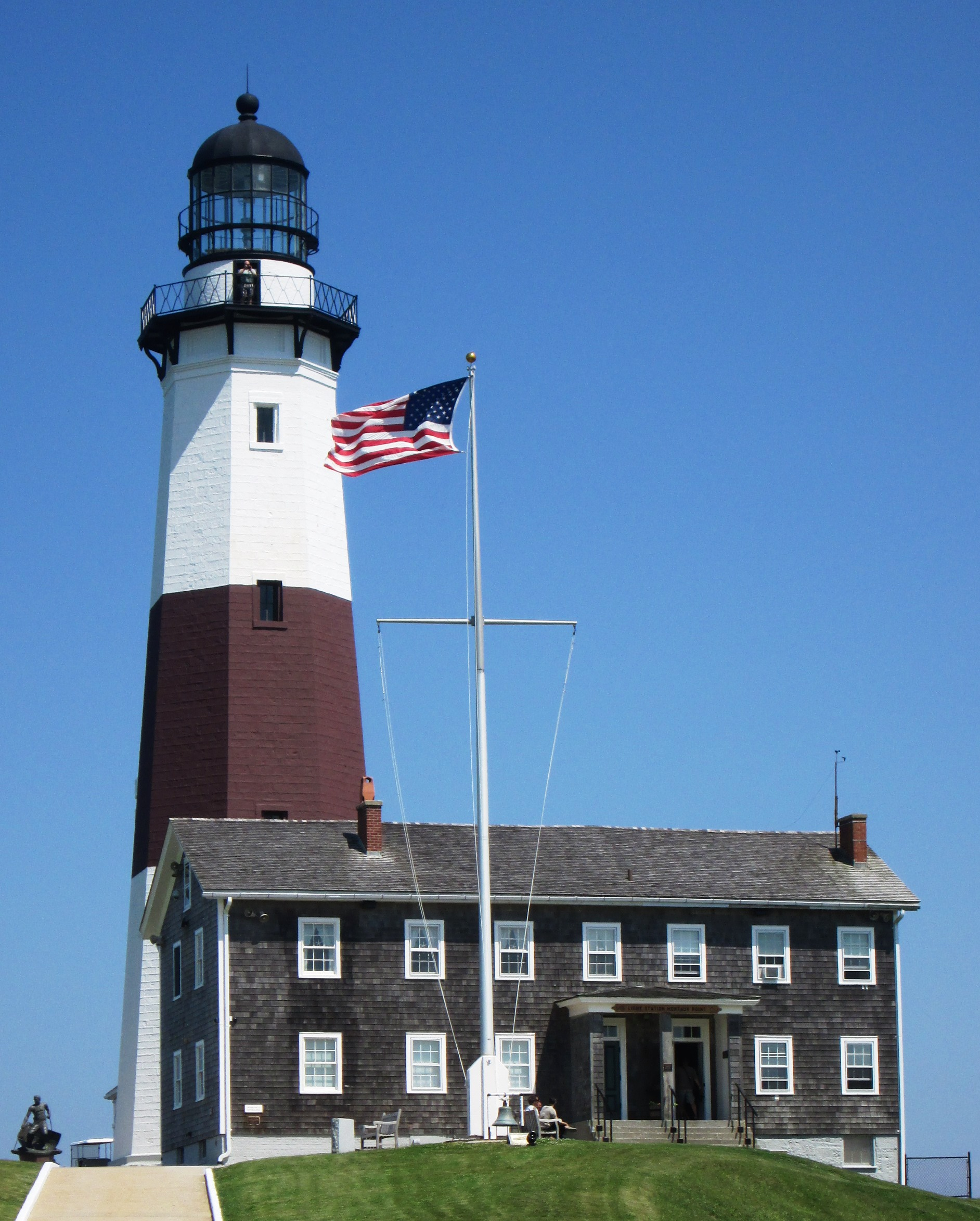 Westlight House: File:Montauk Point Lighthouse From West Close-up.jpg