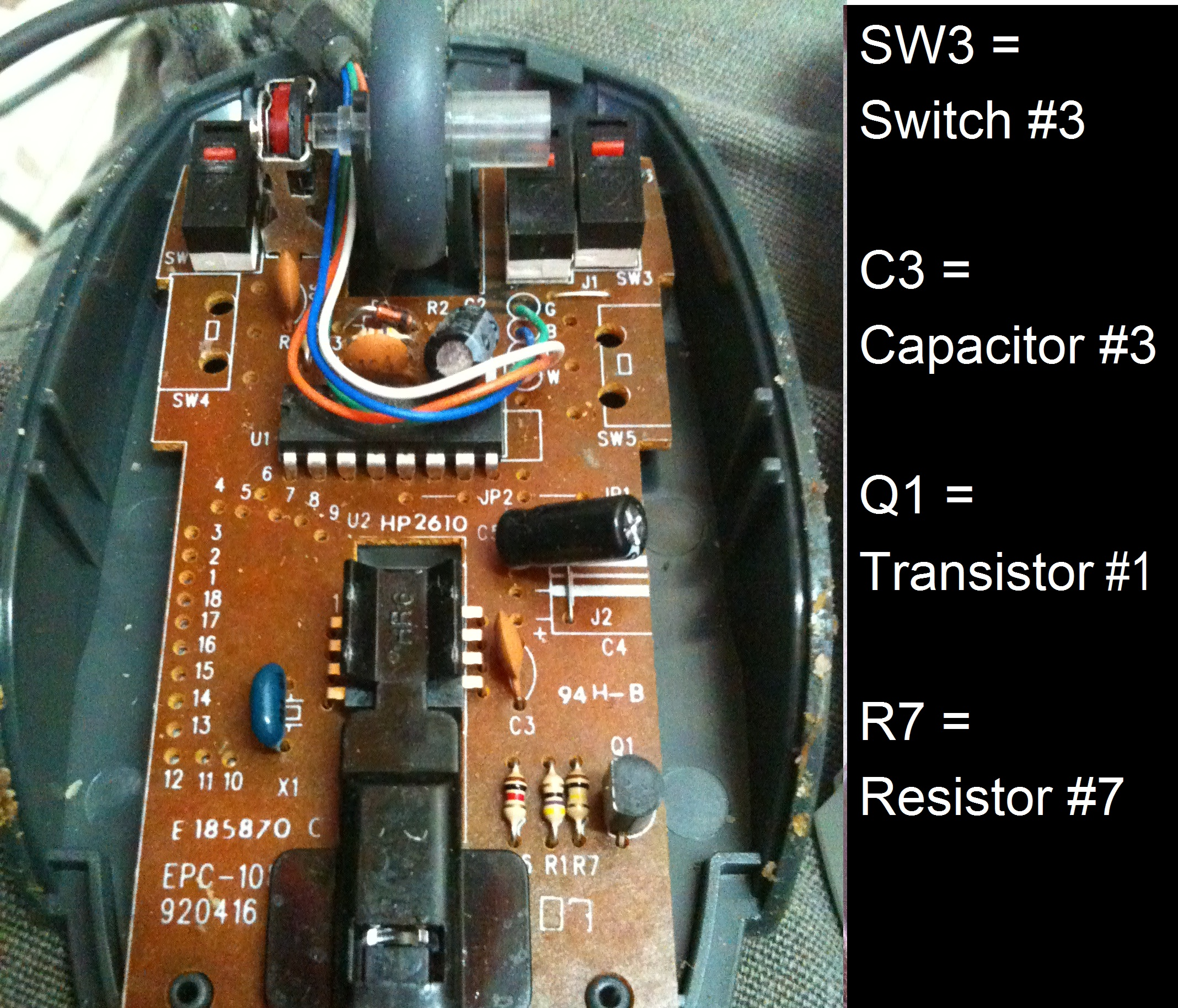 Optical Mouse Circuit Diagram Free Wiring Diagram For You