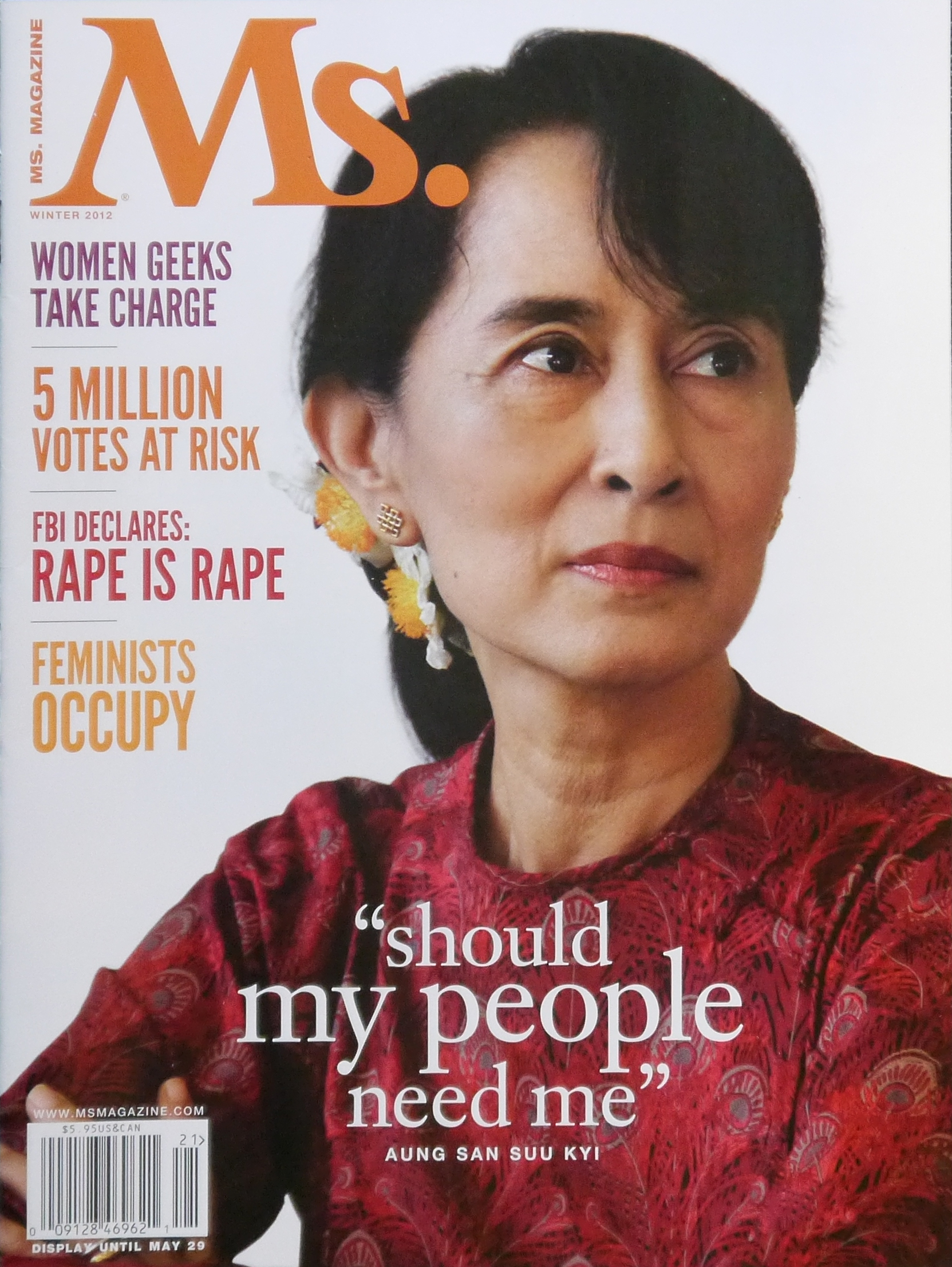 aung san suu kyi simple english the encyclopedia suu kyi on the front of ms magazine in 2012