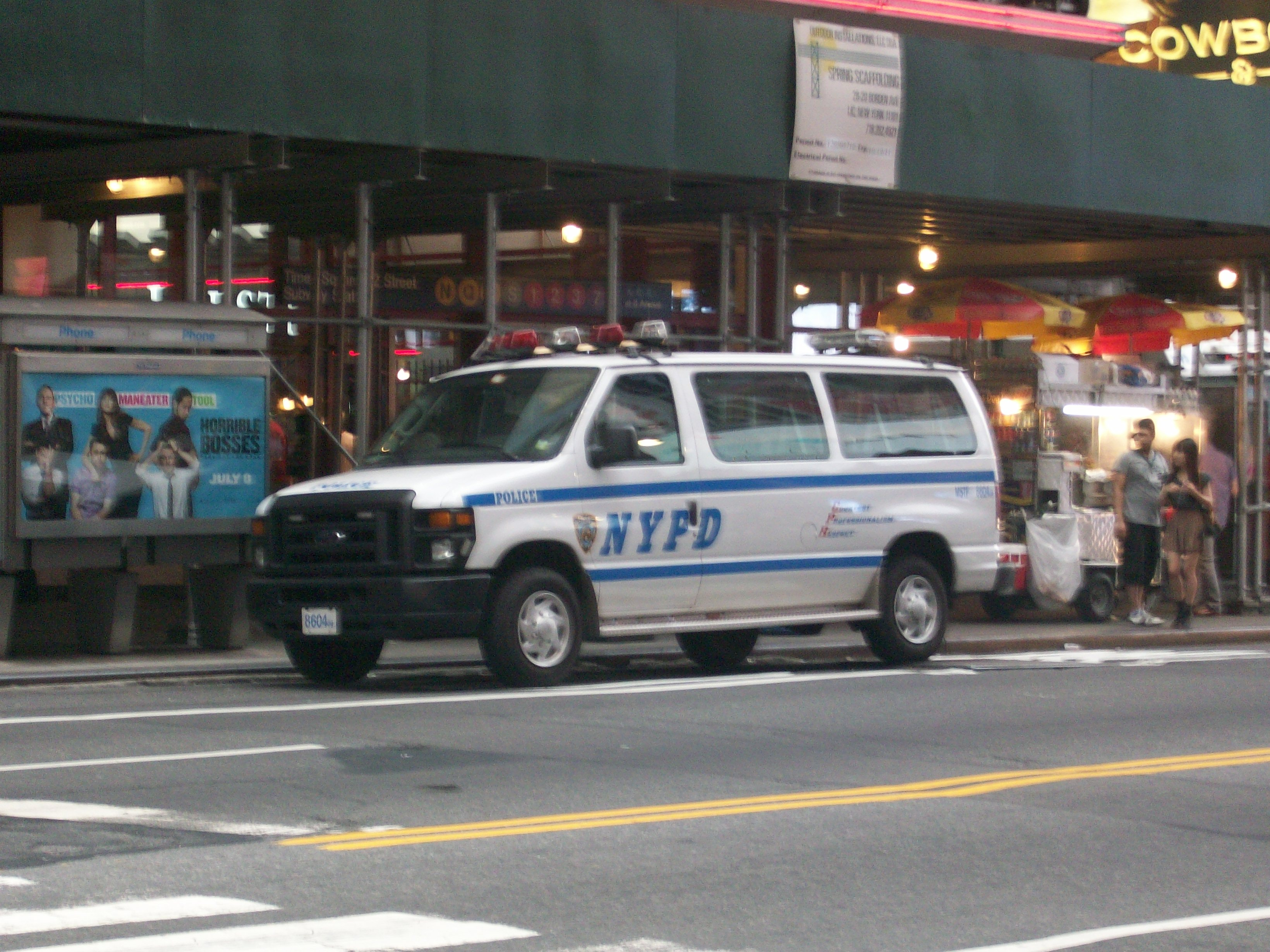 NYPD Ford E-series white version-2011.JPG