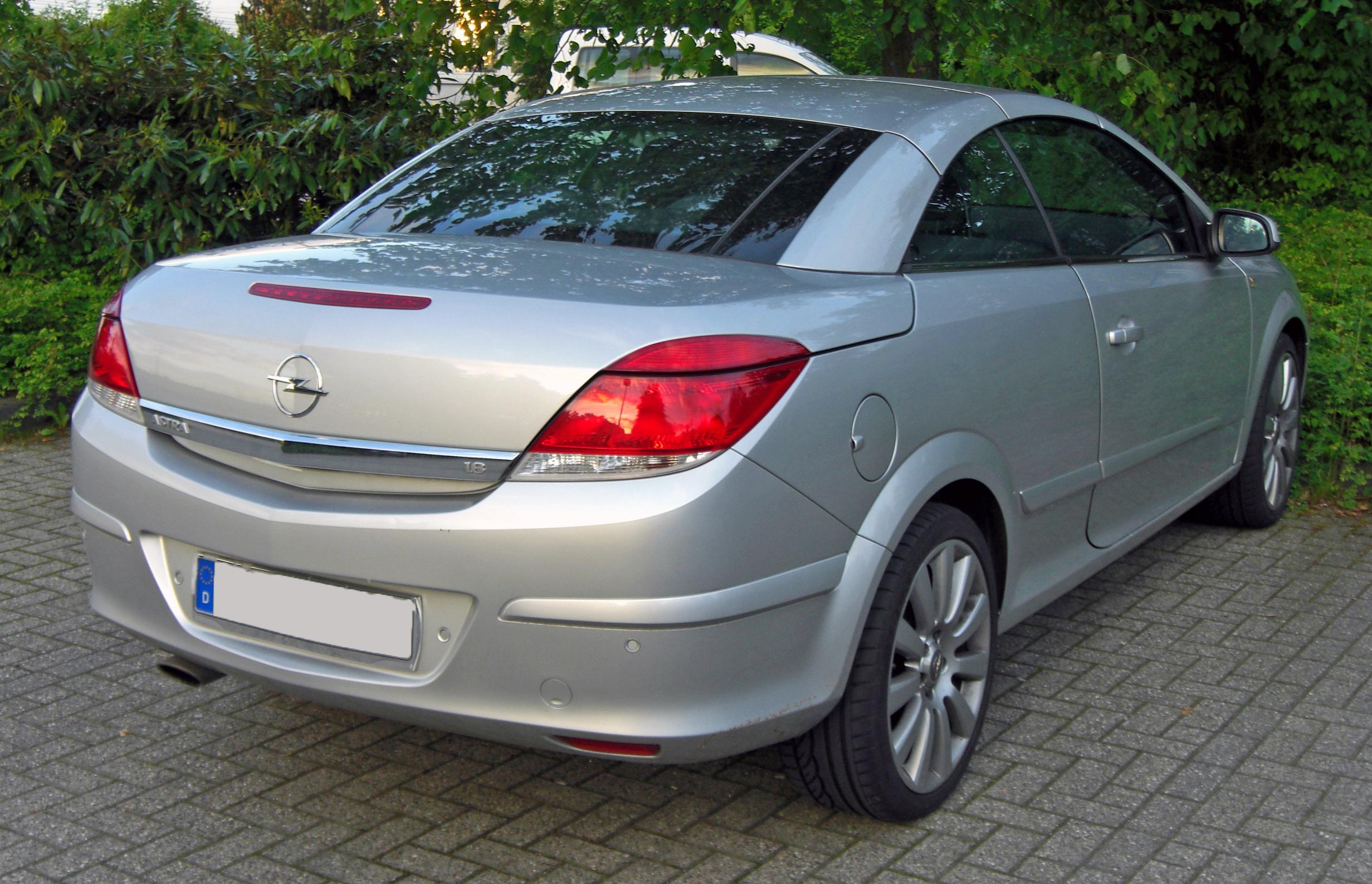 file opel astra h twintop 1 8 facelift 20090518 rear jpg. Black Bedroom Furniture Sets. Home Design Ideas
