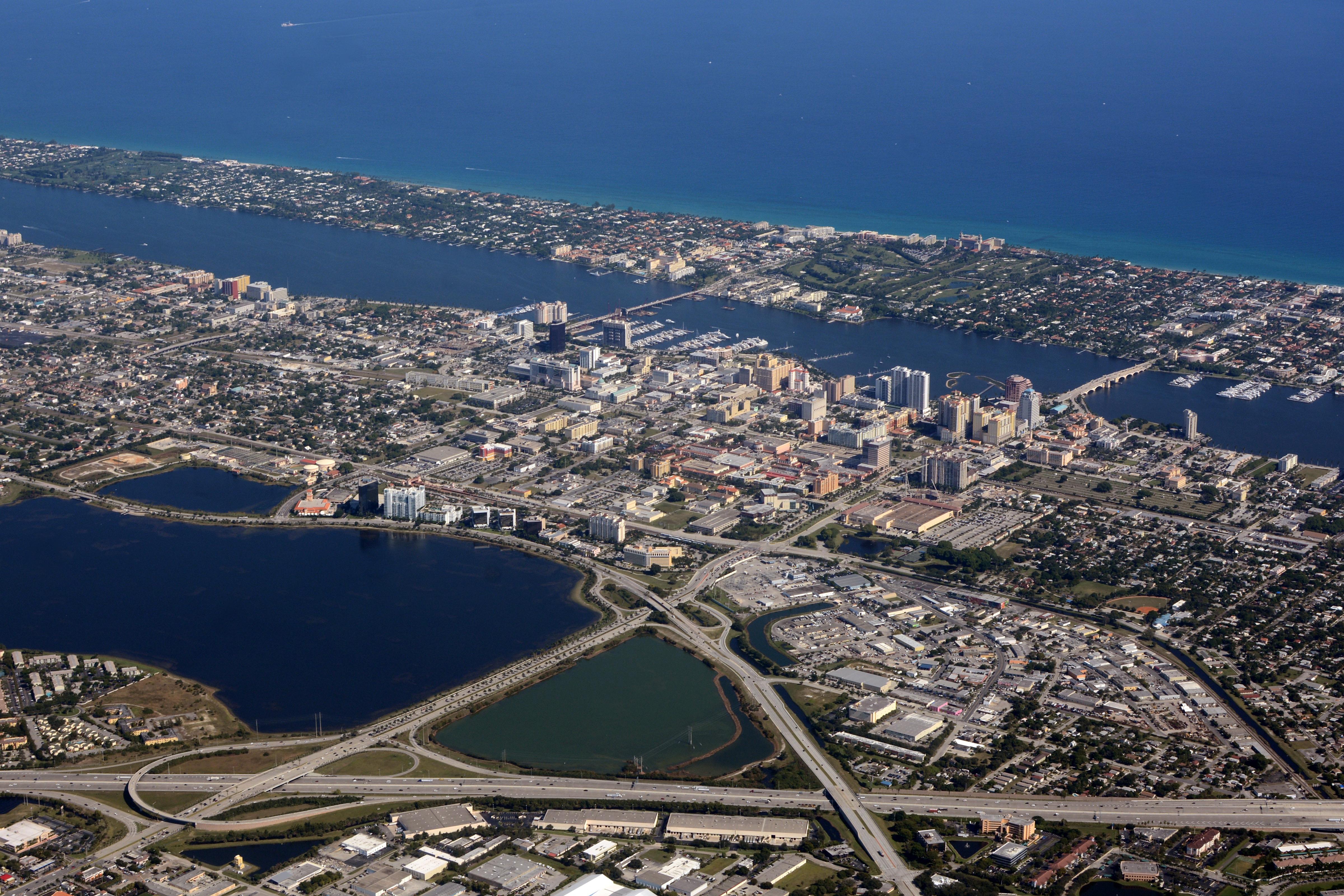 West Palm Beach Service Plaza Palm Beach County Fl