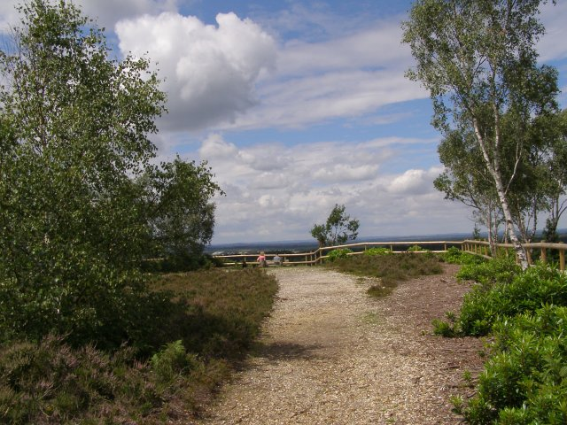 Path to the Ramsdown viewpoint - geograph.org.uk - 510200