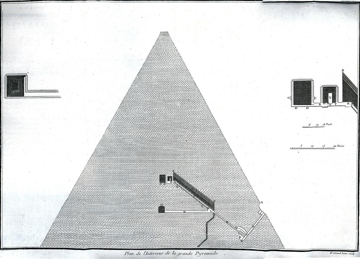 fileplan intrieur de la grande pyramidejpg