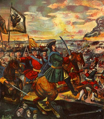 10 июля День воинской славы России - Полтавская битва (1709) День победы русской армии под командов...