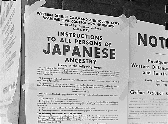 American work camps for Japanese