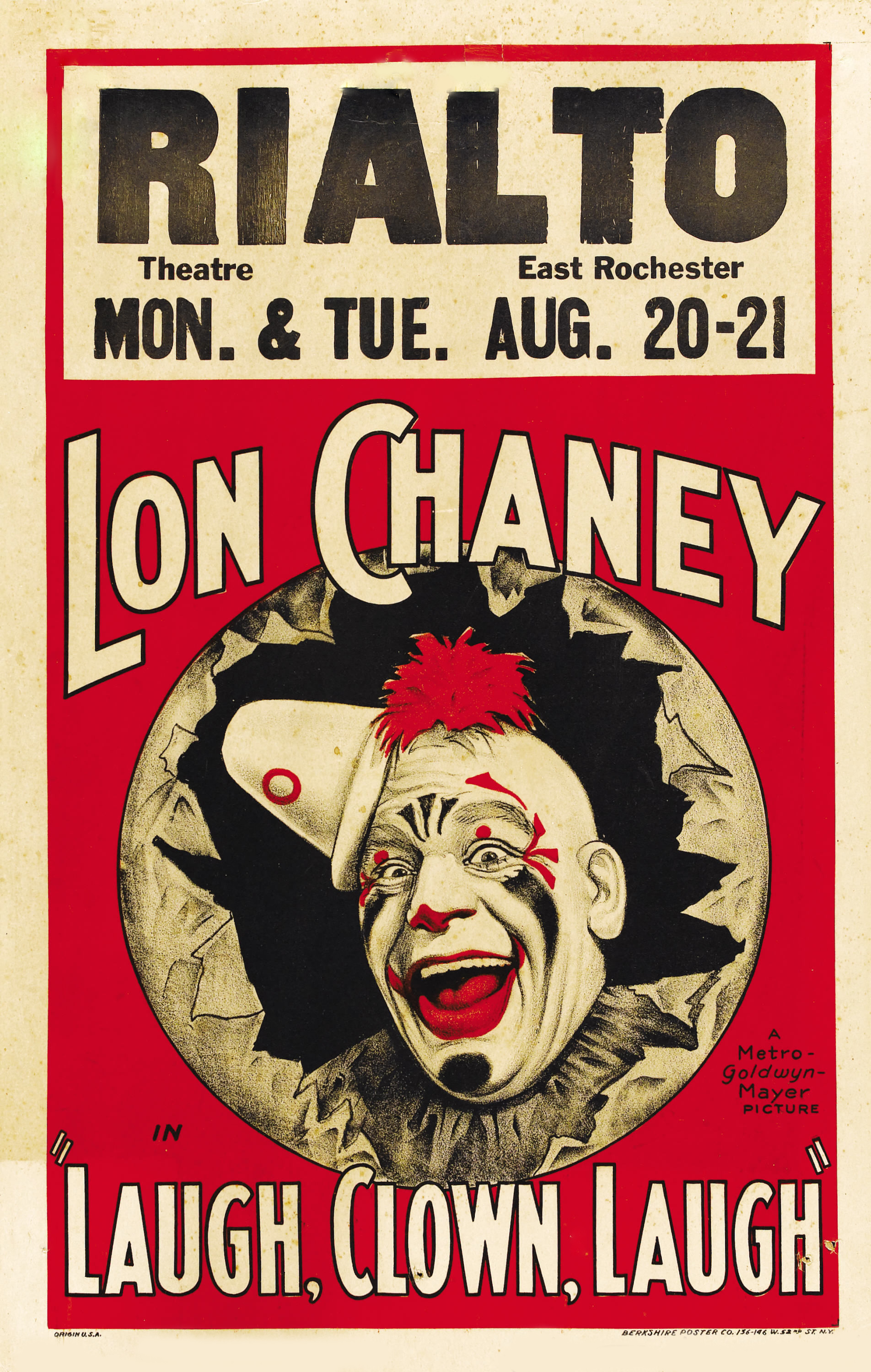 Lon Chaney - Ríe, Payaso, Ríe | 1928 | Mega-Uptobox