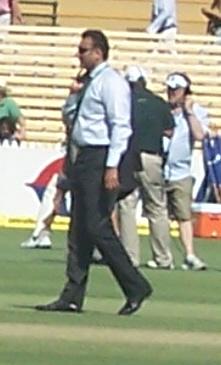 Ravi Shastri, former Indian cricketer. 4 Test ...
