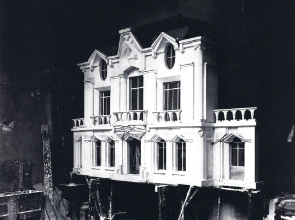 File raymond duchamp villon 1912 maquette originale de for Facade de maison moderne