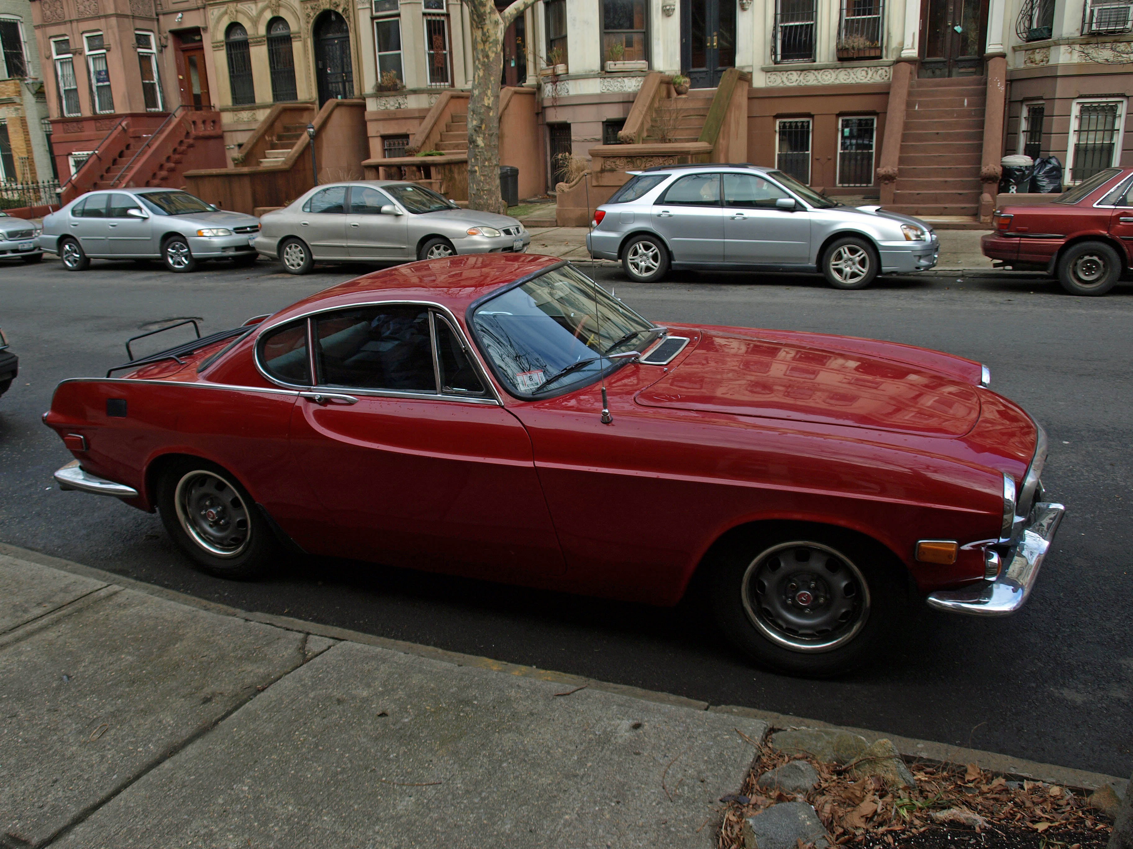 File Red Volvo P1800 Jpg Wikimedia Commons