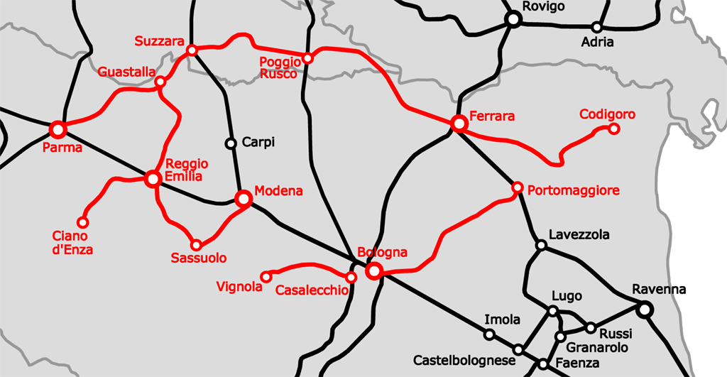 Как добраться на поезде в Равенну, расписание поездов и маршруты поездов в Равенну по Италии. Лучший путеводитель по Равенне, Италии - скачать бесплатно