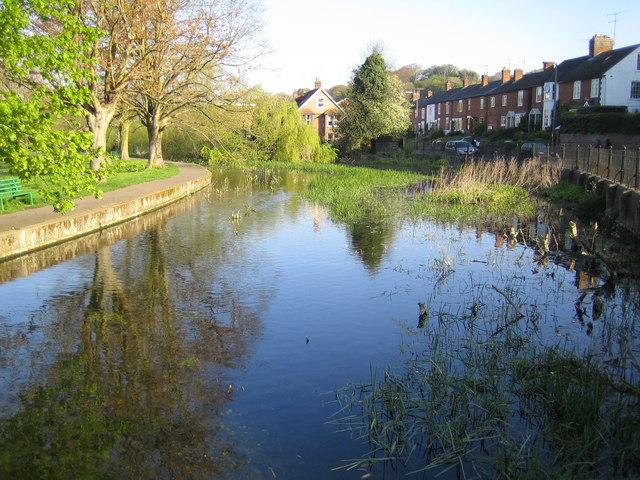 River Chess at Waterside, Chesham - geograph.org.uk - 407585