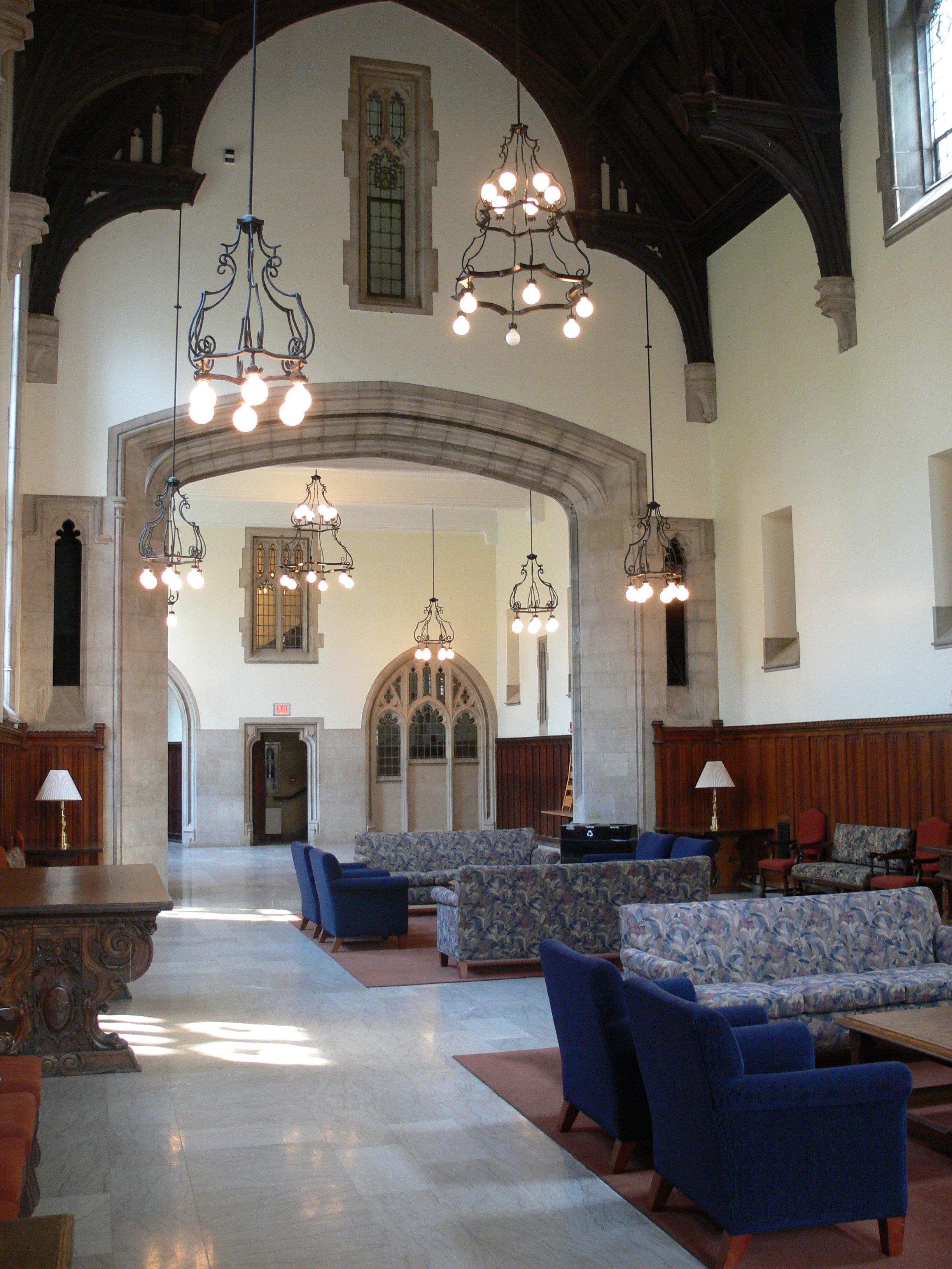 University College Durham Senior Common Room Images