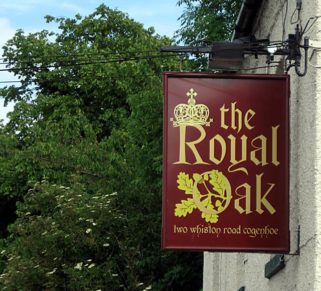 File:Royal Oak Inn Sign, 2009 - geograph.org.uk - 1371964.jpg