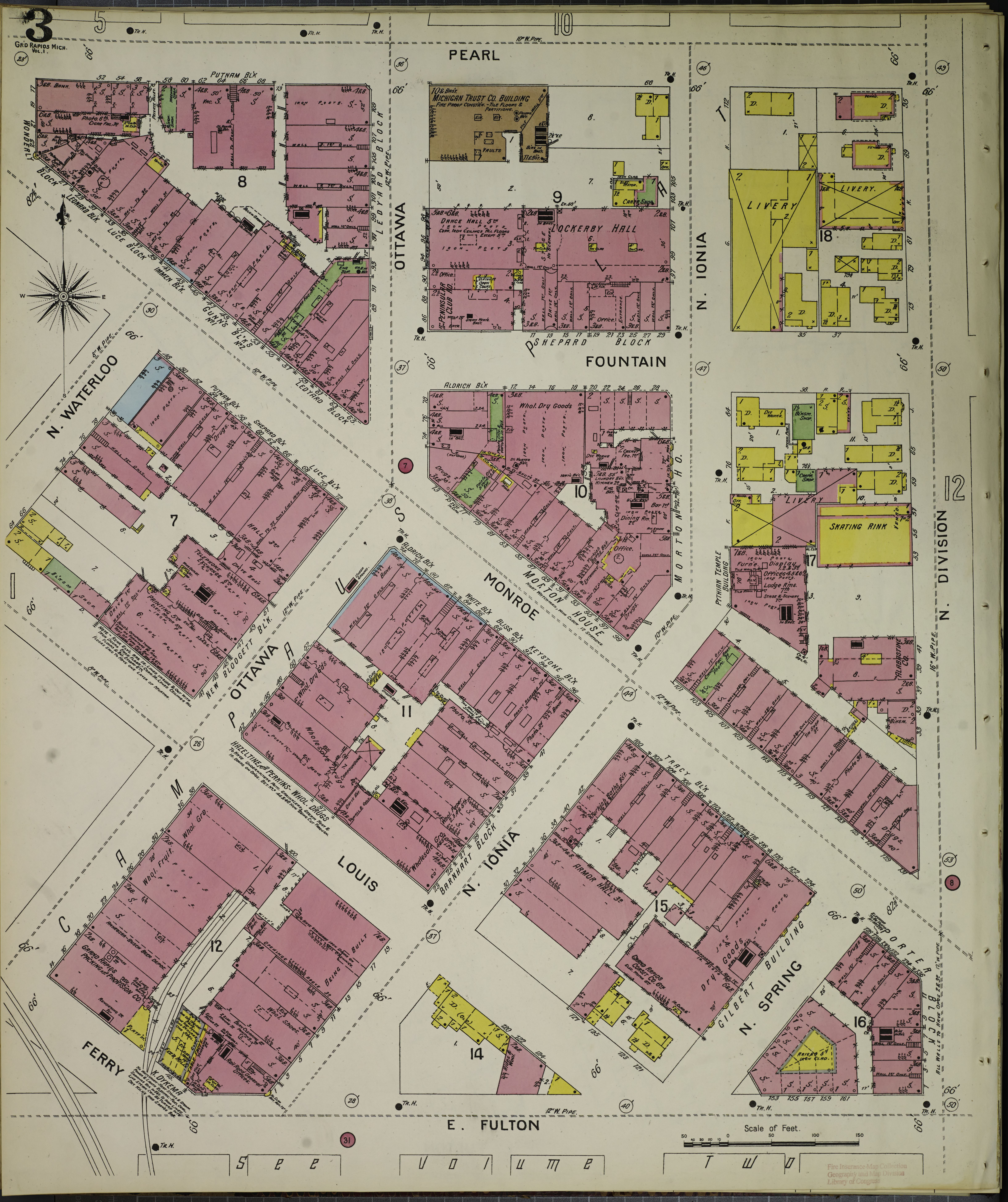 File Sanborn Fire Insurance Map From Grand Rapids Kent County
