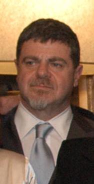 Gustavo Santaolalla, en la Casa Rosada, 2007.